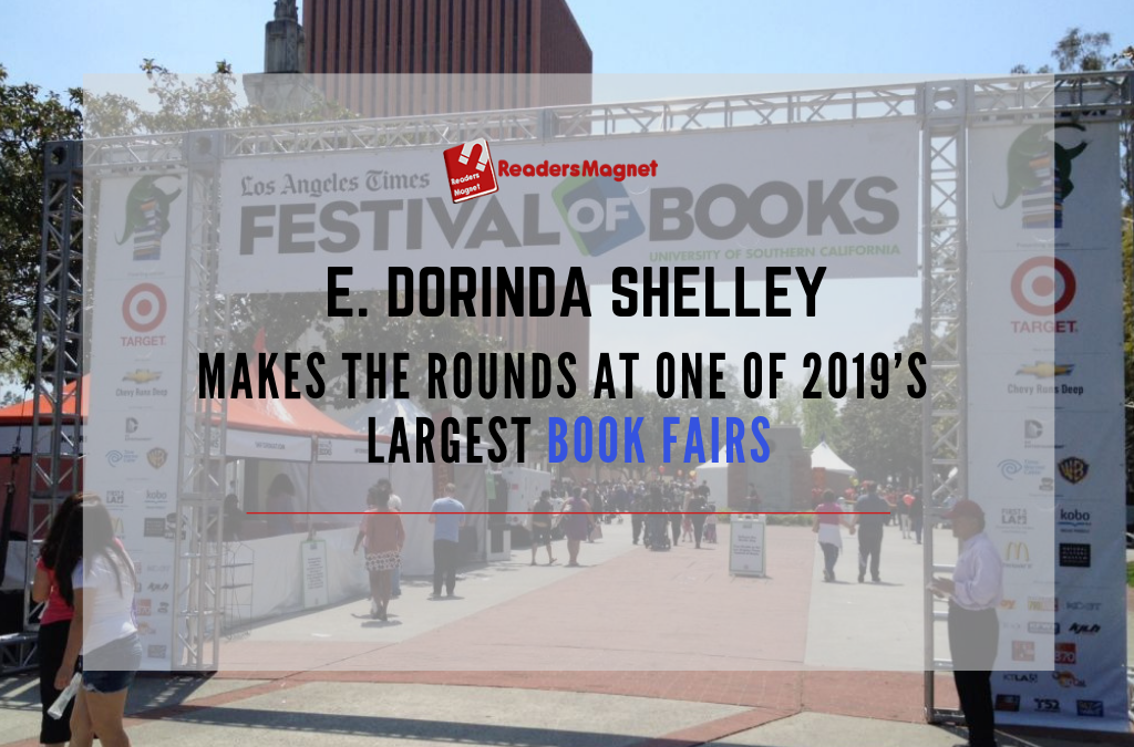 E. Dorinda Shelley makes the rounds at one of 2019's largest book fairs