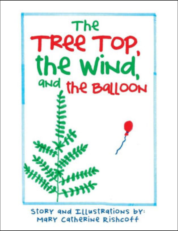The Tree top the wind and the baloon