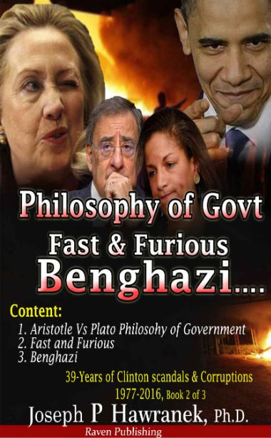 39 Years of Clinton Scandals and Corruption – 1977 to 2016 (Book 2 of 3)   Joseph P Hawranek