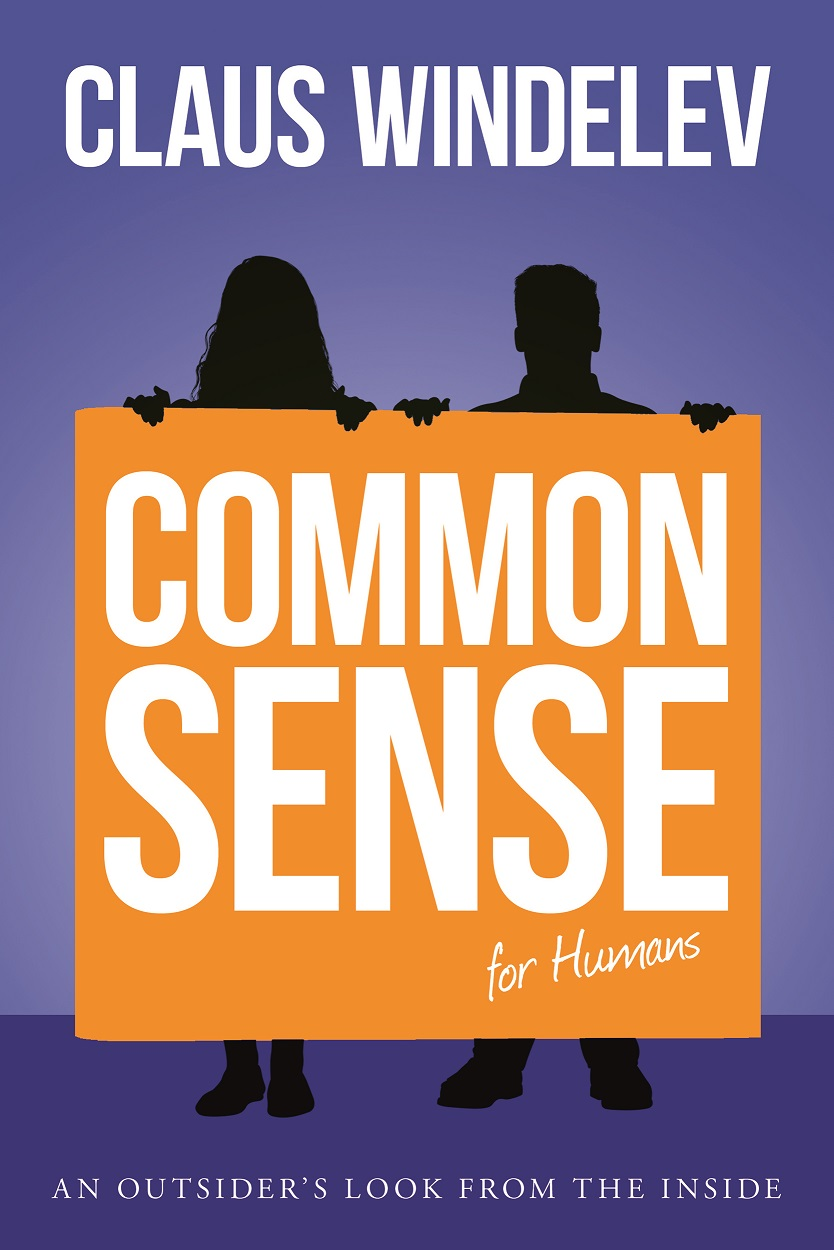 book cover for common sense for humans