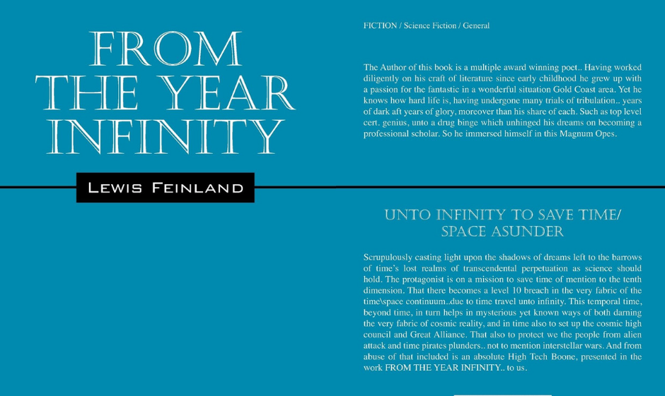 From The Year Infinity by Lewis Feinland