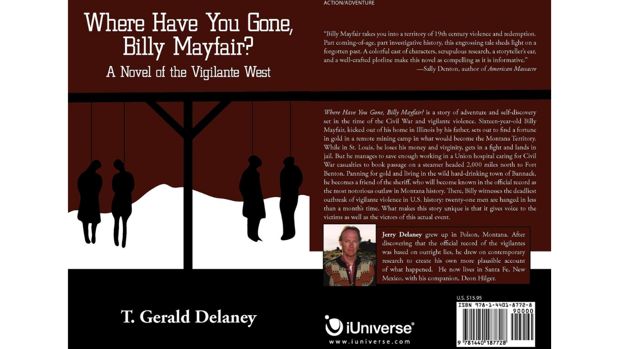 Where Have You Gone, Billy Mayfair - A Novel of the Vigilante West