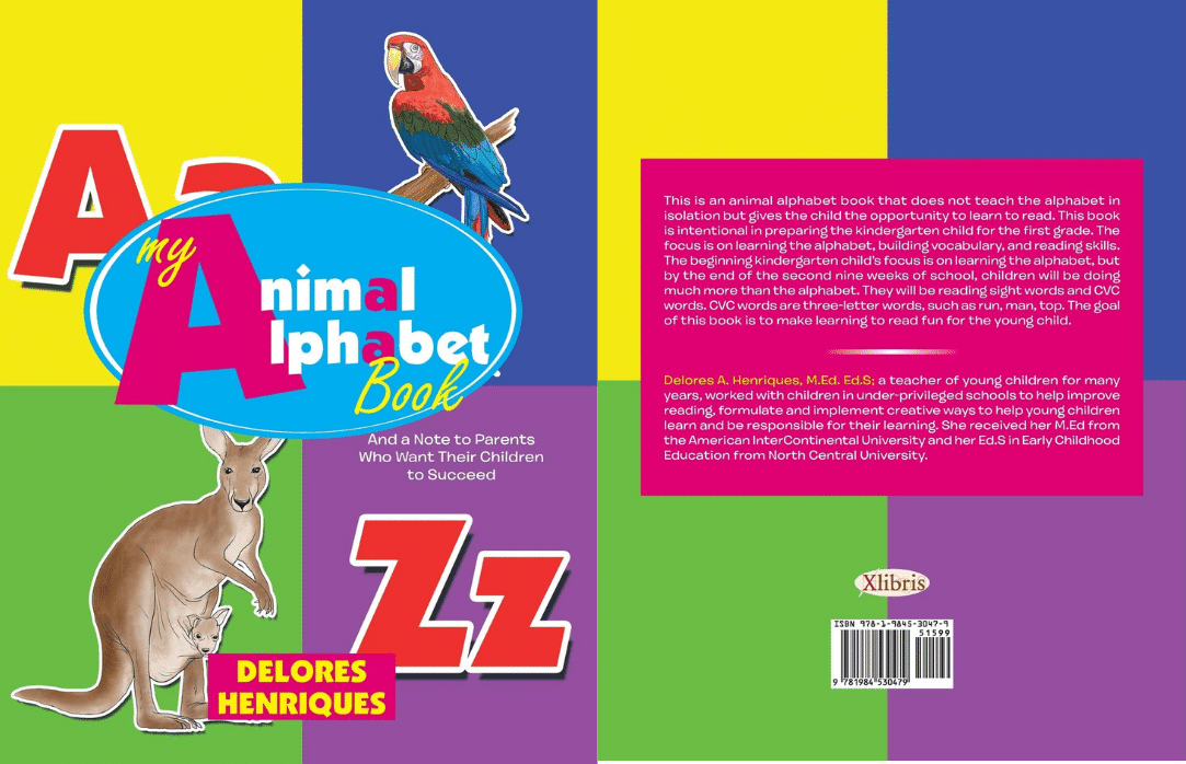 My Animal alphabet Book cover