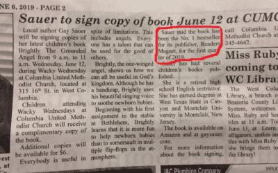 Sauer to sign copy of book June 12 at CUMC