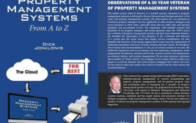 Property Management Systems From A to Z by Dick Jonilonis