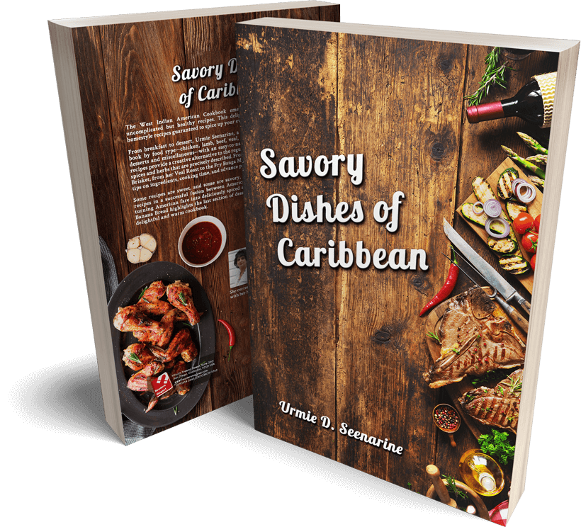 Savory Dishes of Caribbean Book Cover