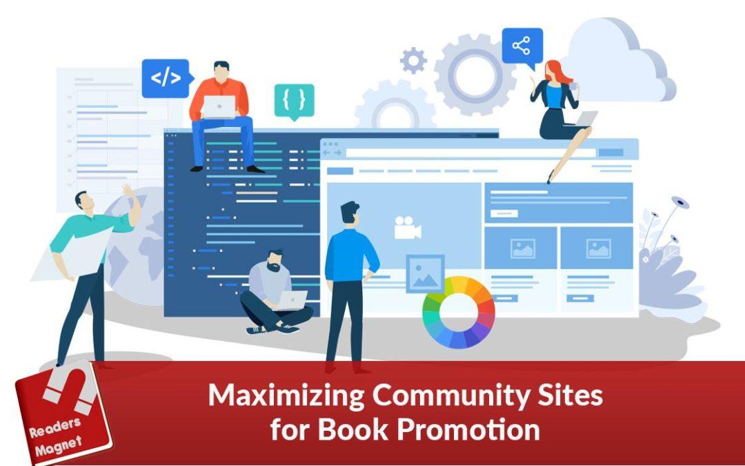 Maximizing Community Sites for Book Promotion