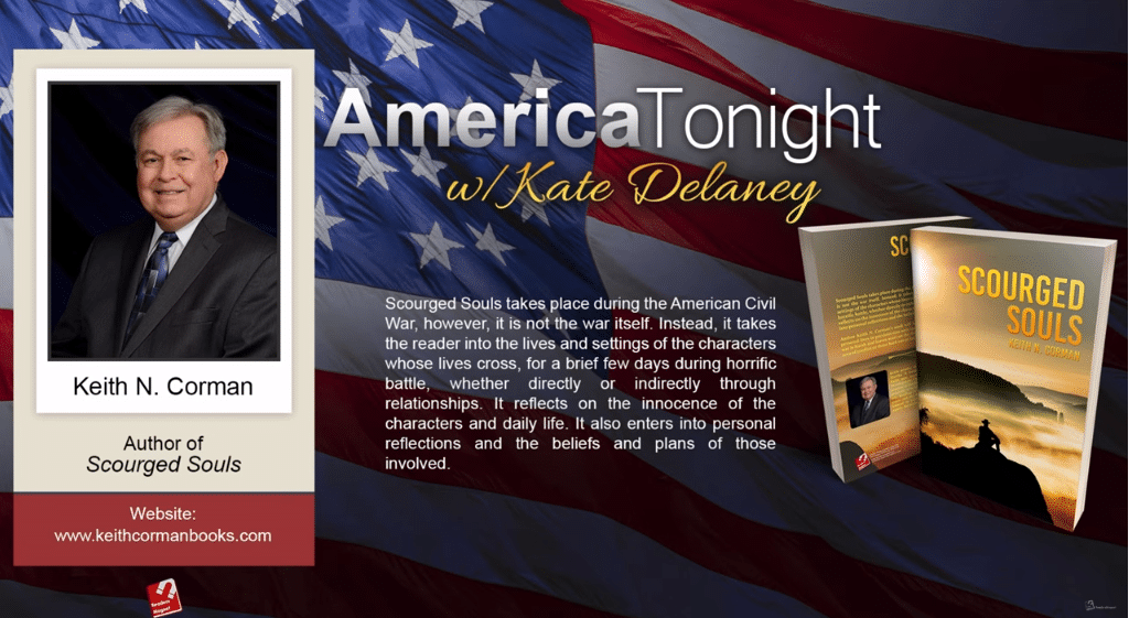 Keith N. Corman interview with kate delaney