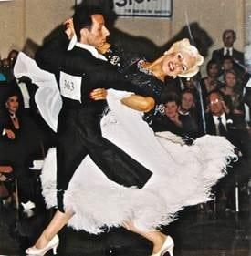 Jenell Moranto dancing photo