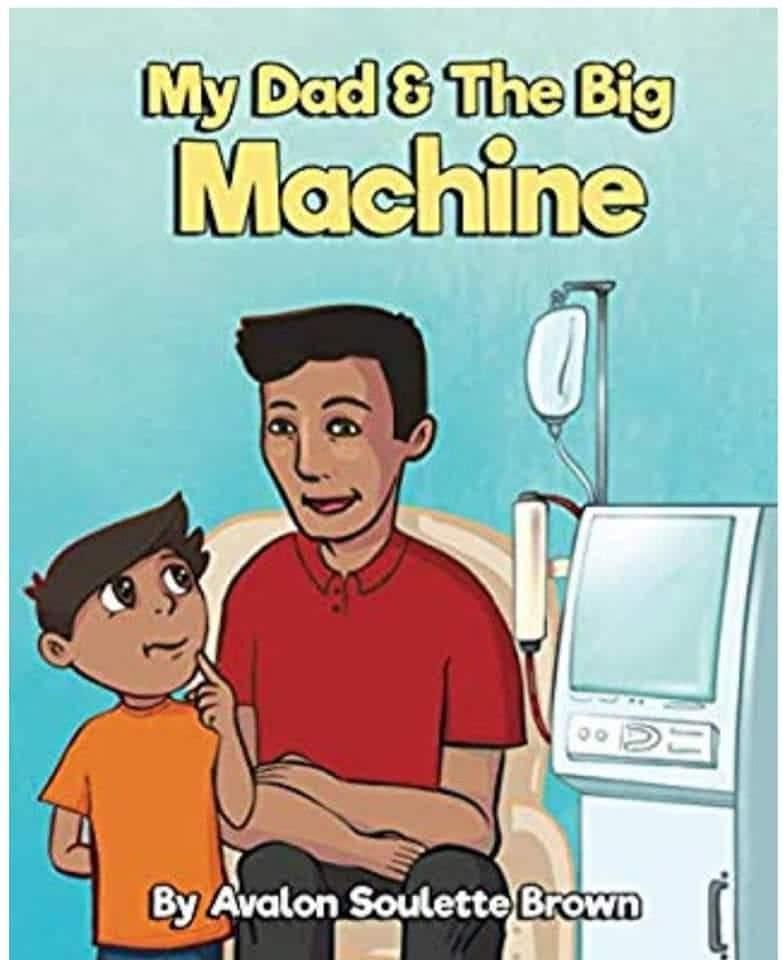 My dad and the big machine