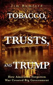 tobacco, trusts, and trump poster