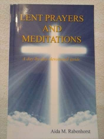 Lent prayers and meditations book cover
