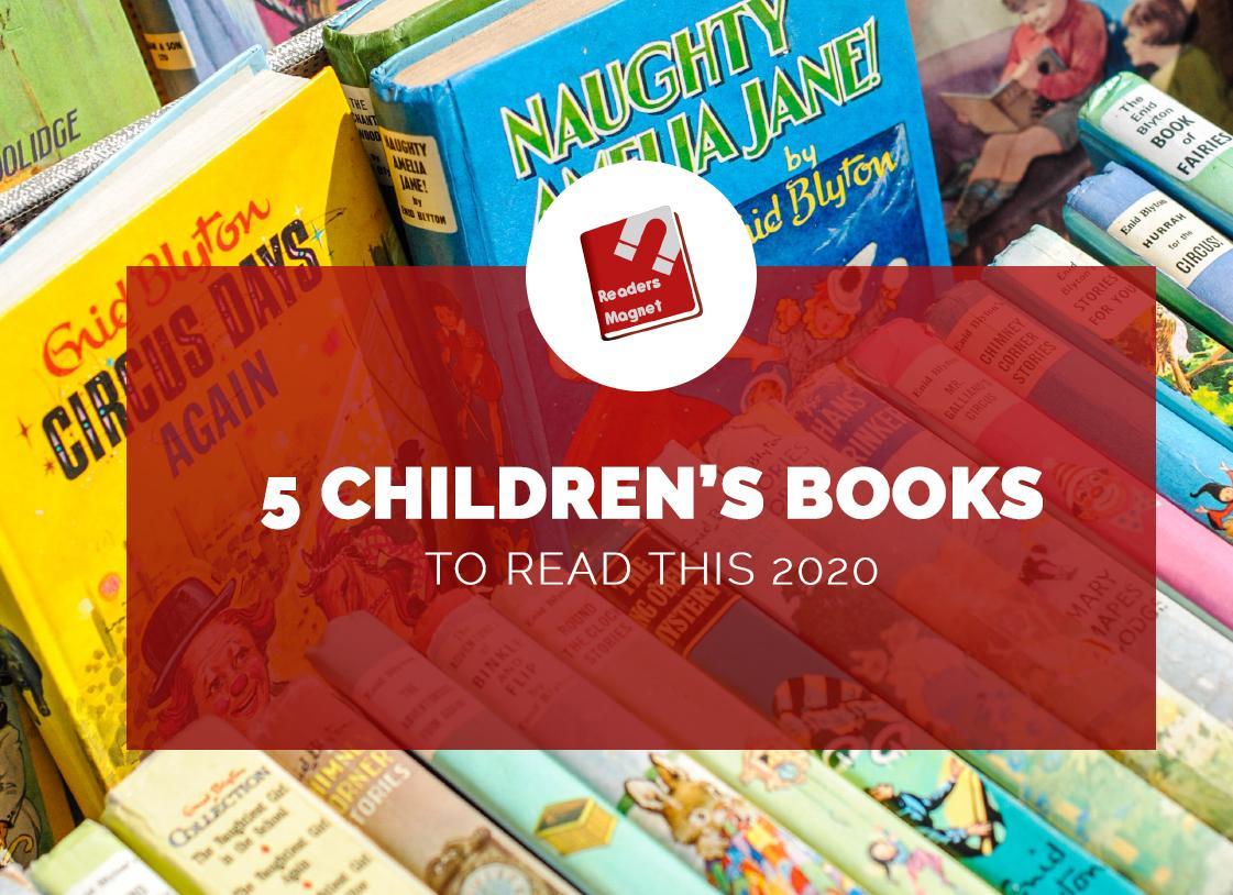5 Children's Books for 2020 banner