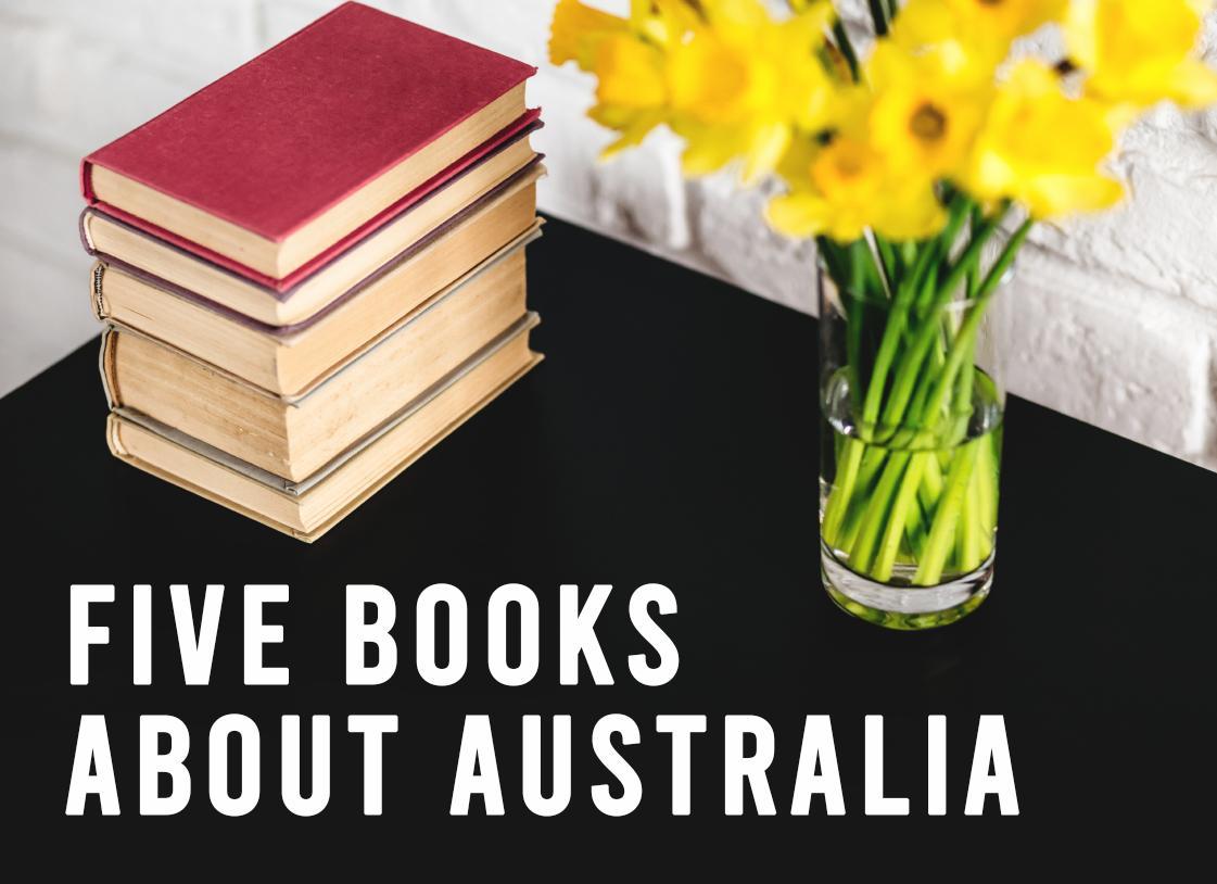 Five Books About Australia banner