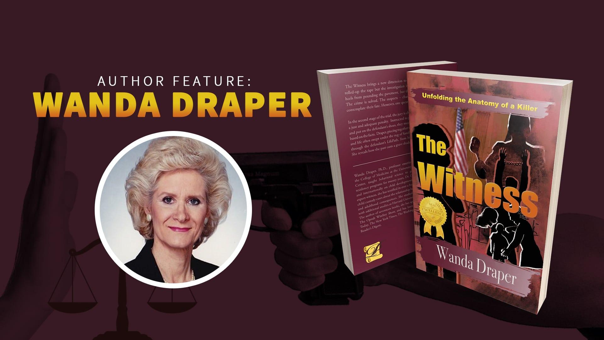 Author Feature: Wanda Draper banner