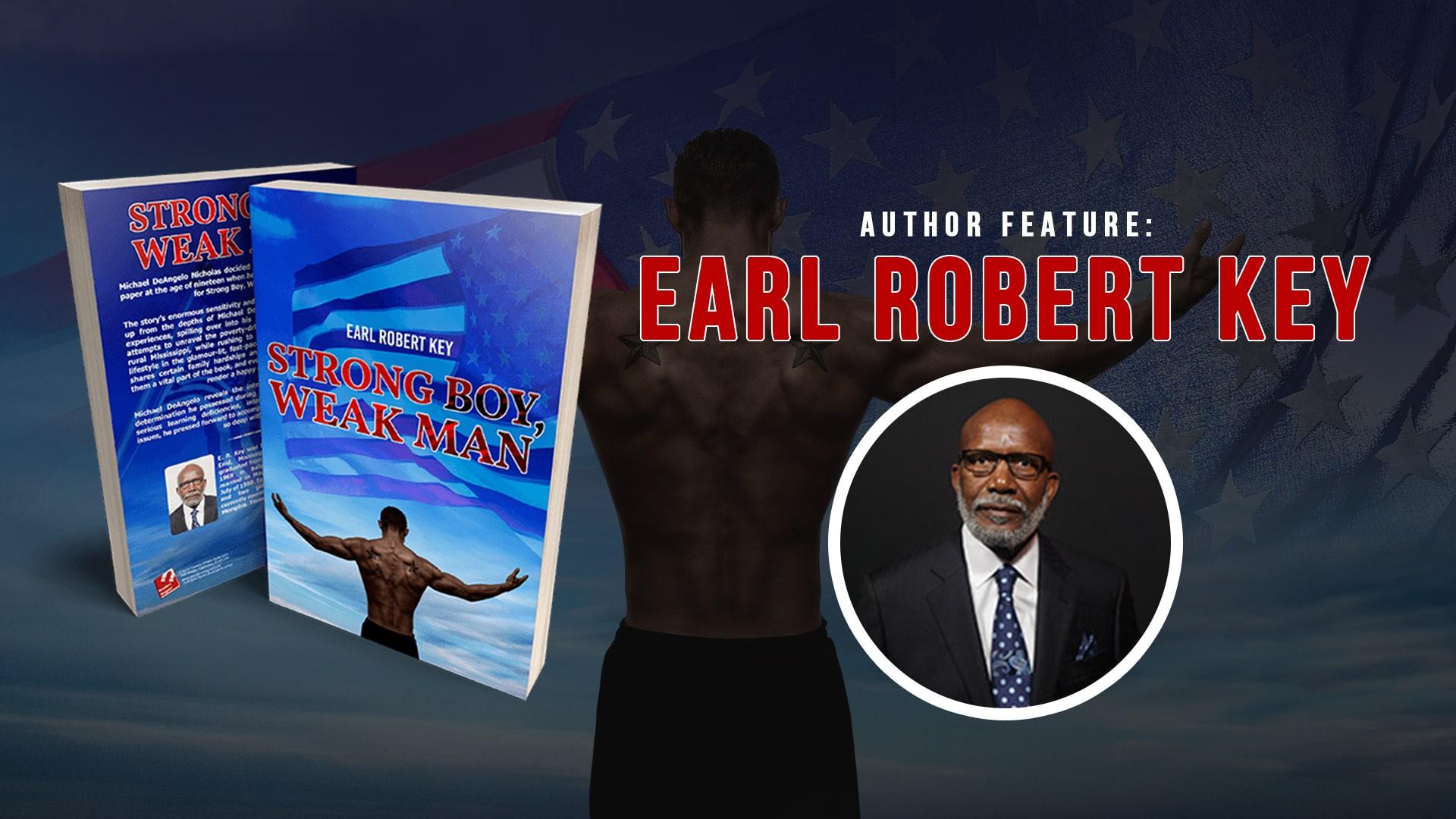 Author Feature Earl Robert Key banner