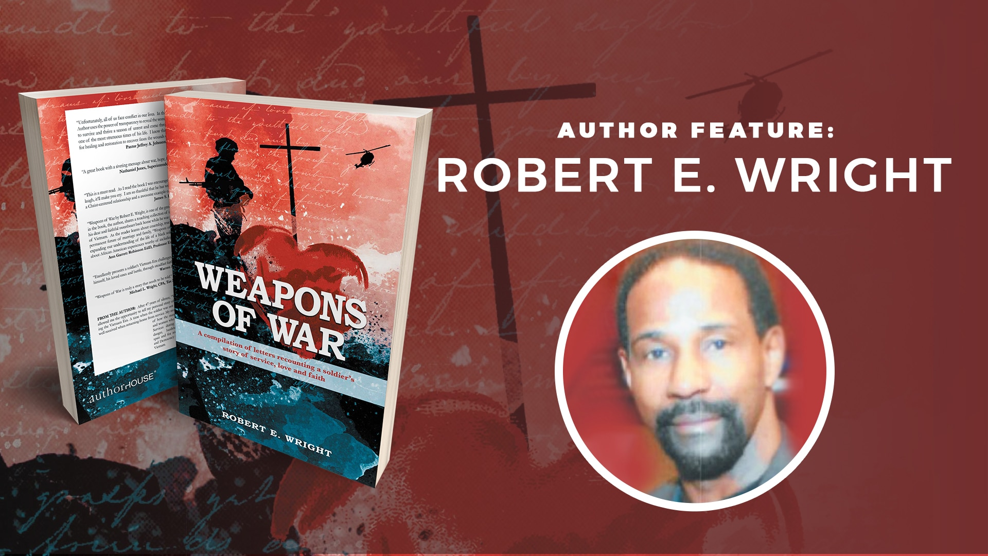 Author Feature: Robert E. Wright banner
