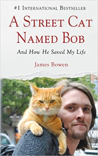 A Street Cat Named Bobby by James Bowen cover