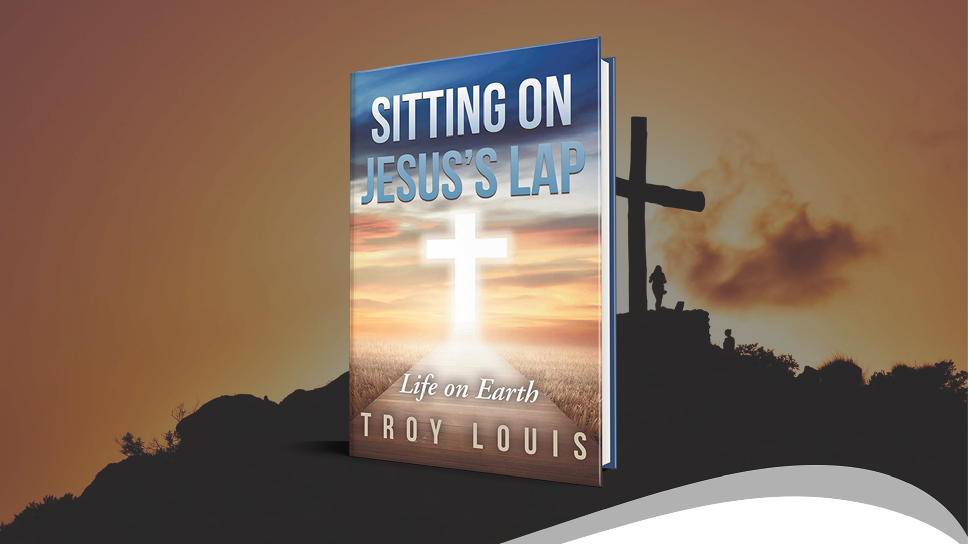 Book Feature: sitting On Jesus's Lap banner