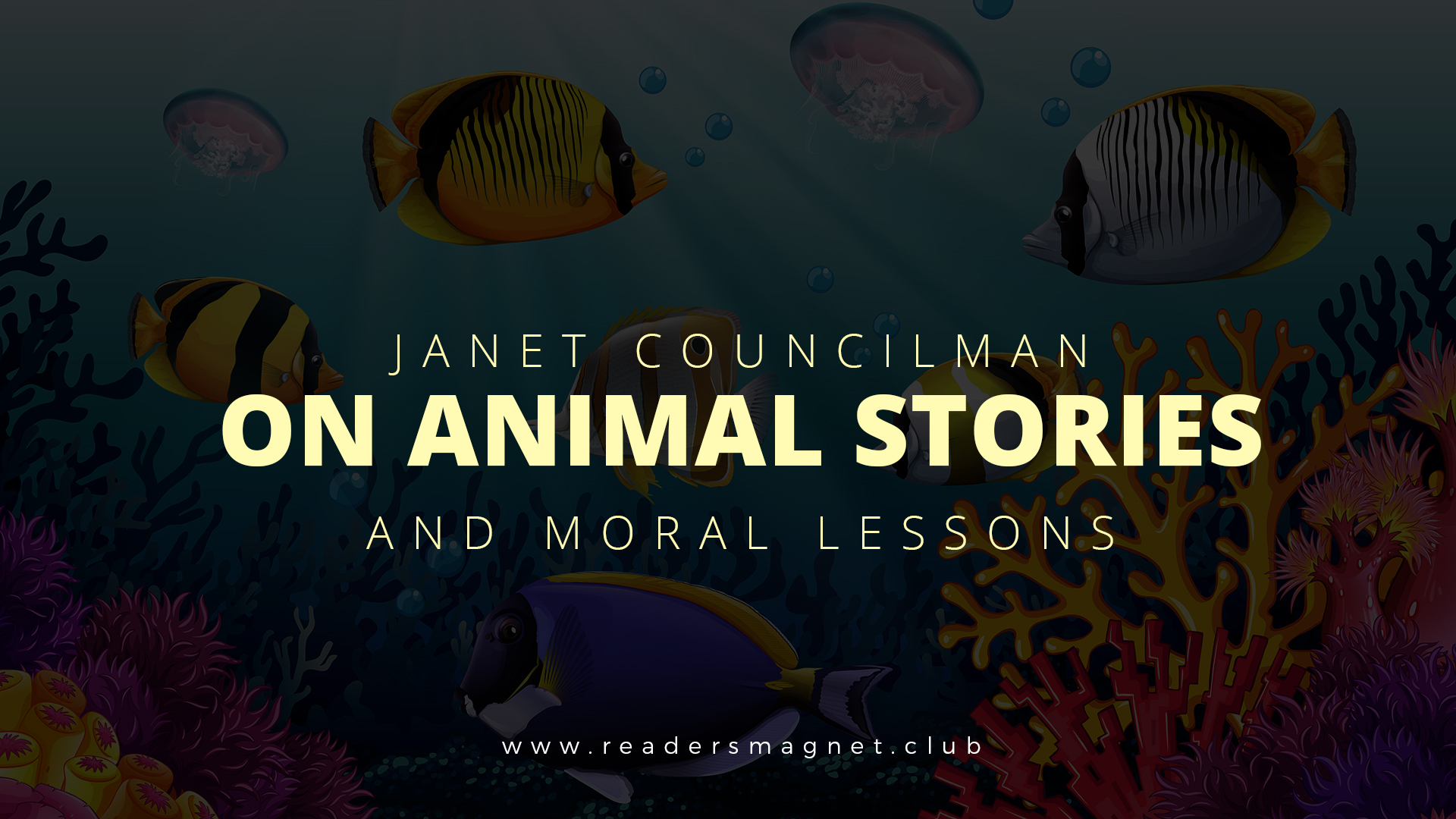 anet Councilman on Animals Stories and Moral Lessons banner