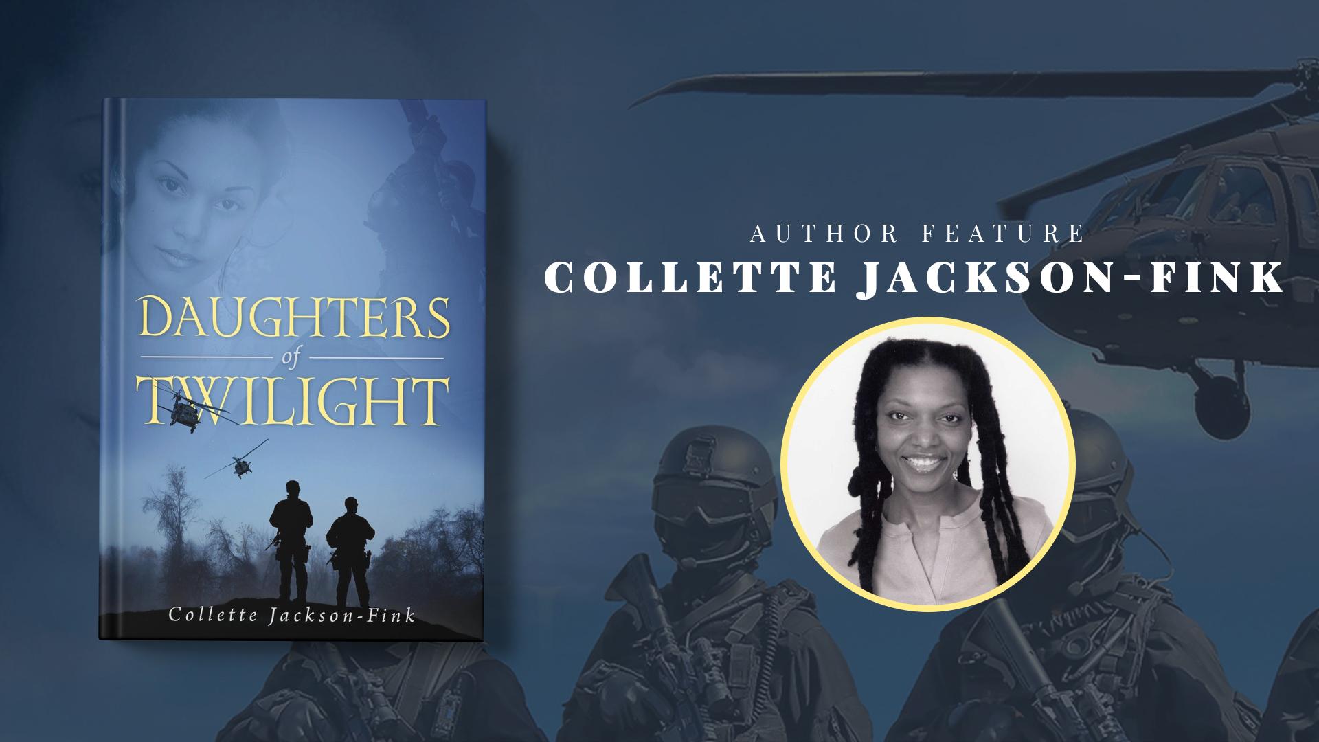 Author Feature: Collette Jackson-Fink banner
