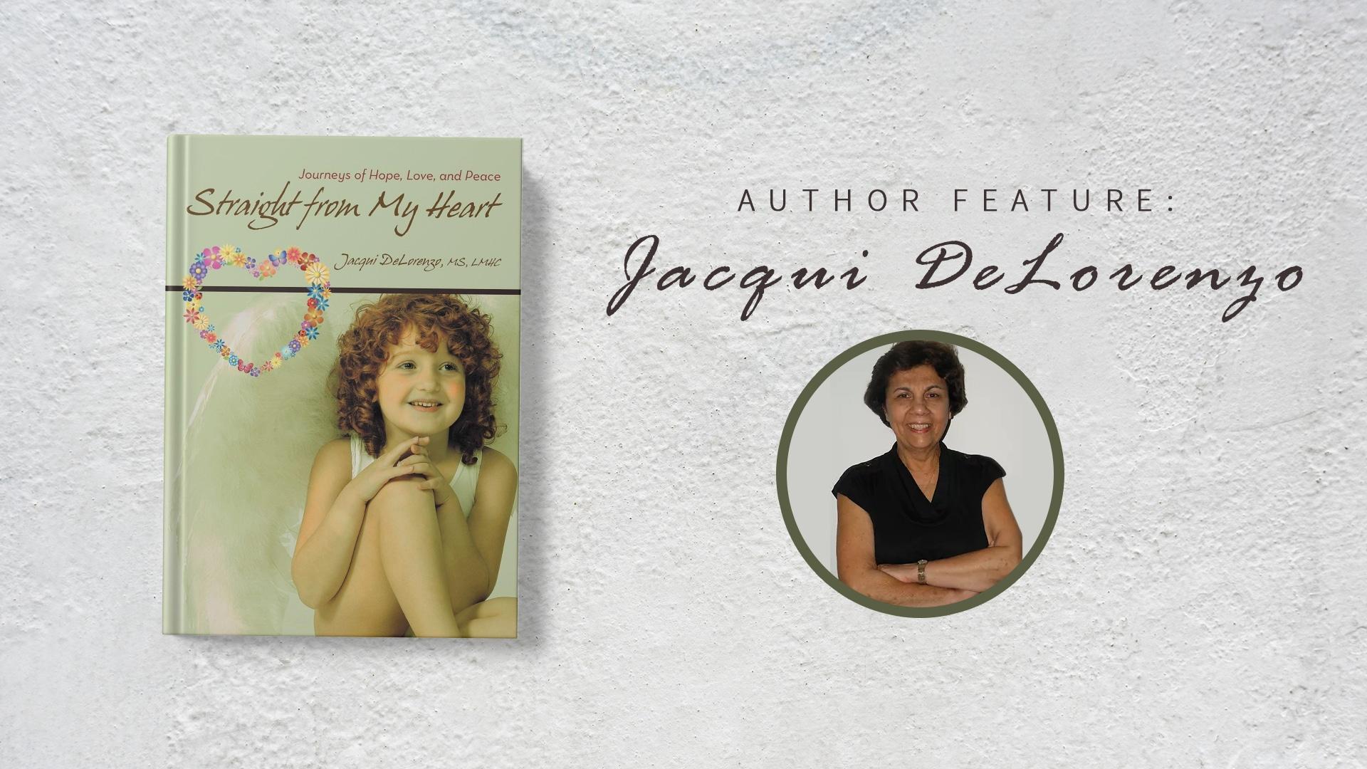 Author feature: Jacqui DeLorenzo banner