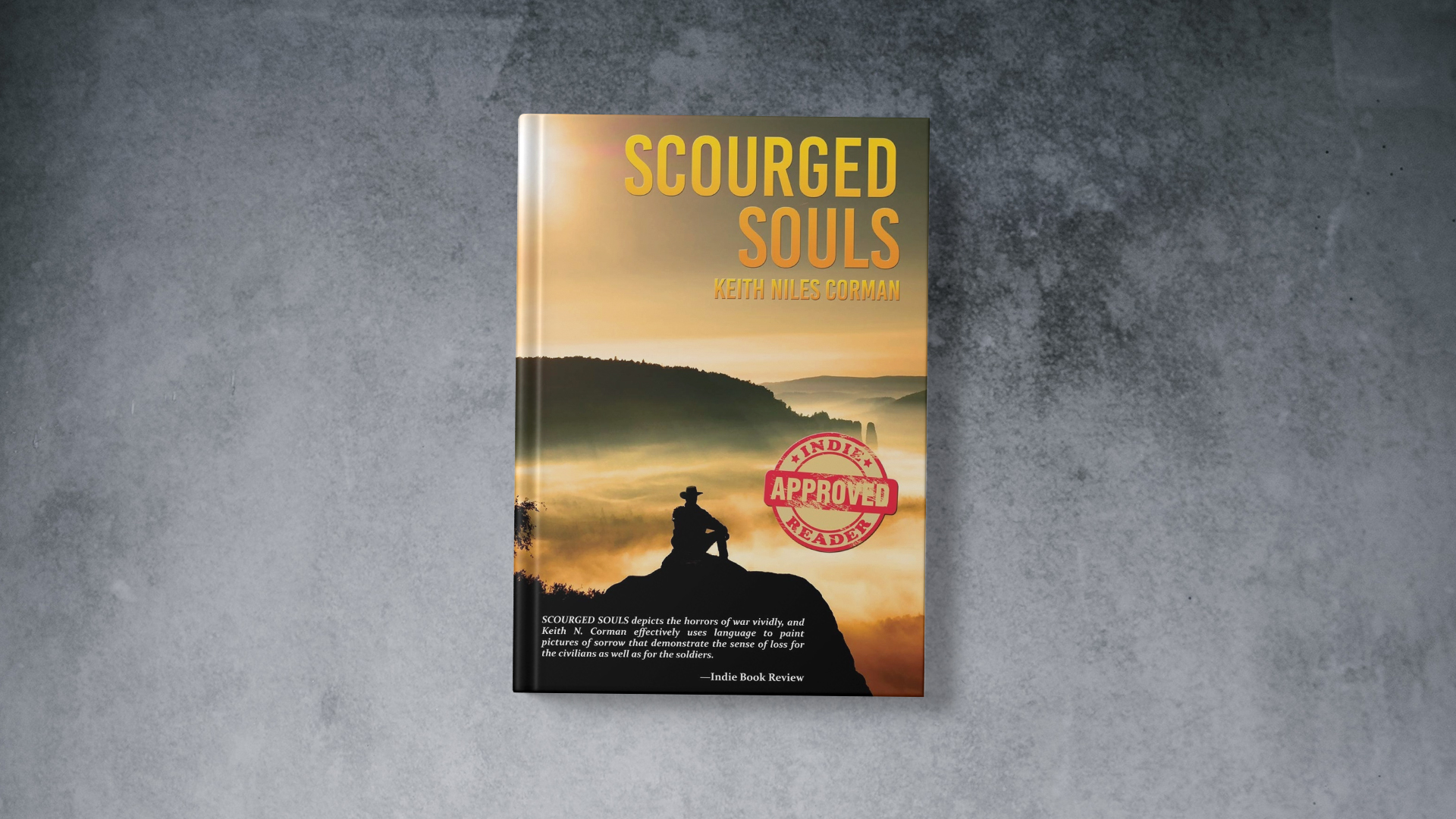 Scourge Souls by Keith Corman banner