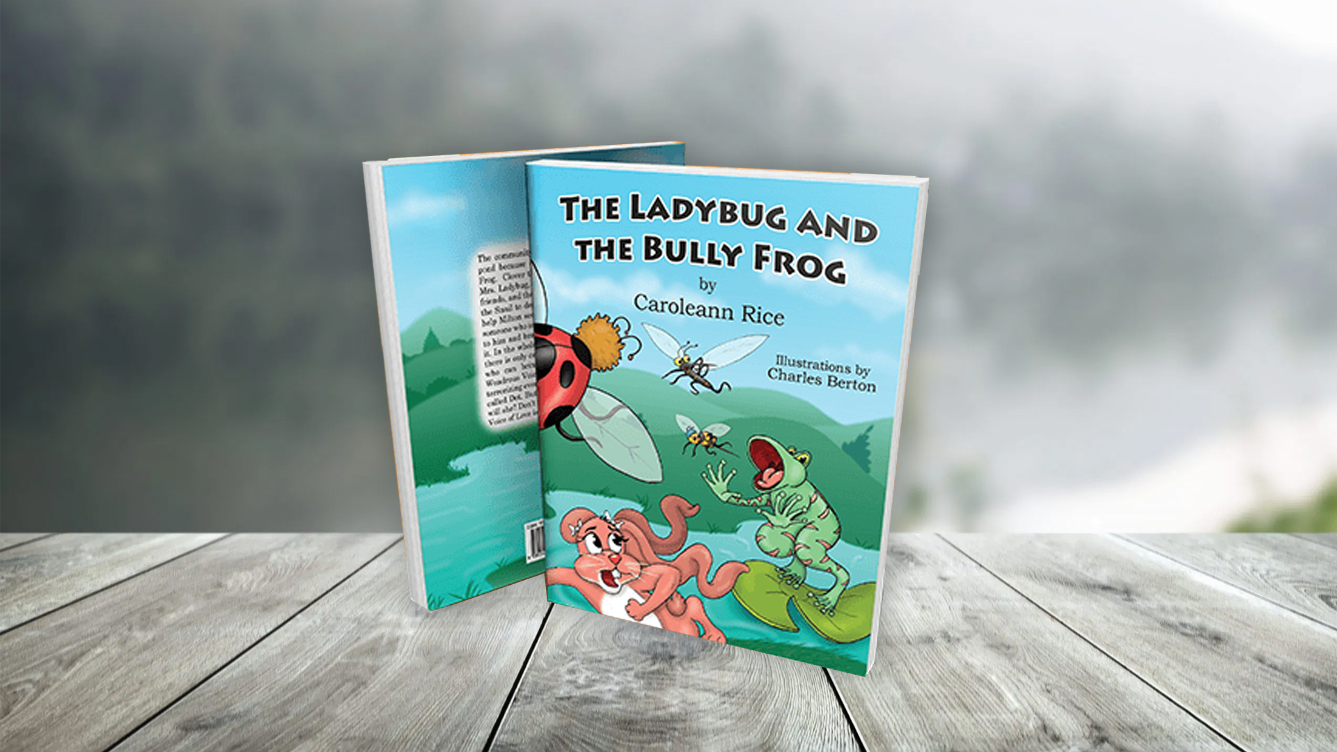 The Ladybug And The Bully Frog banner