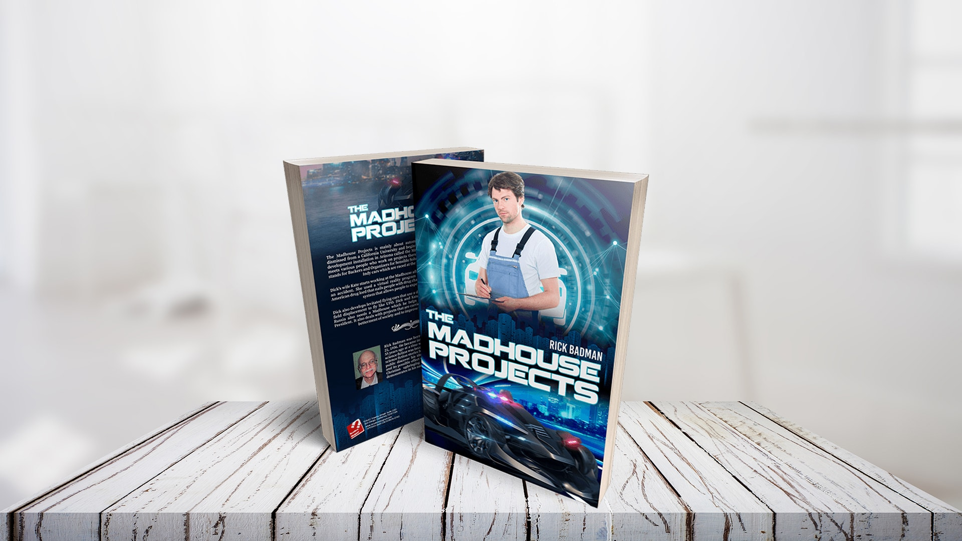Book Feature: The Madhouse Projects banner