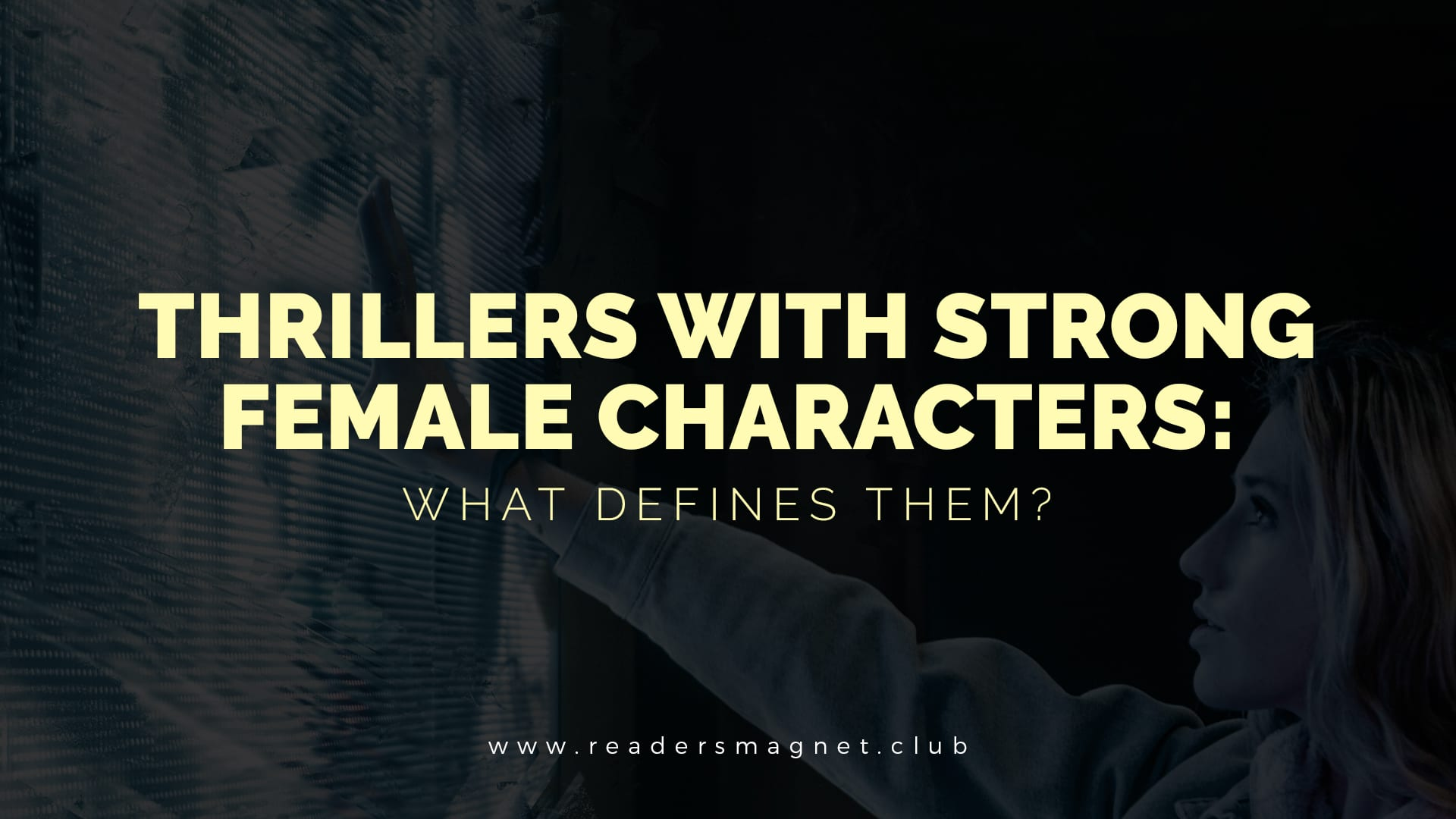 Thrillers With Strong Female Characters banner