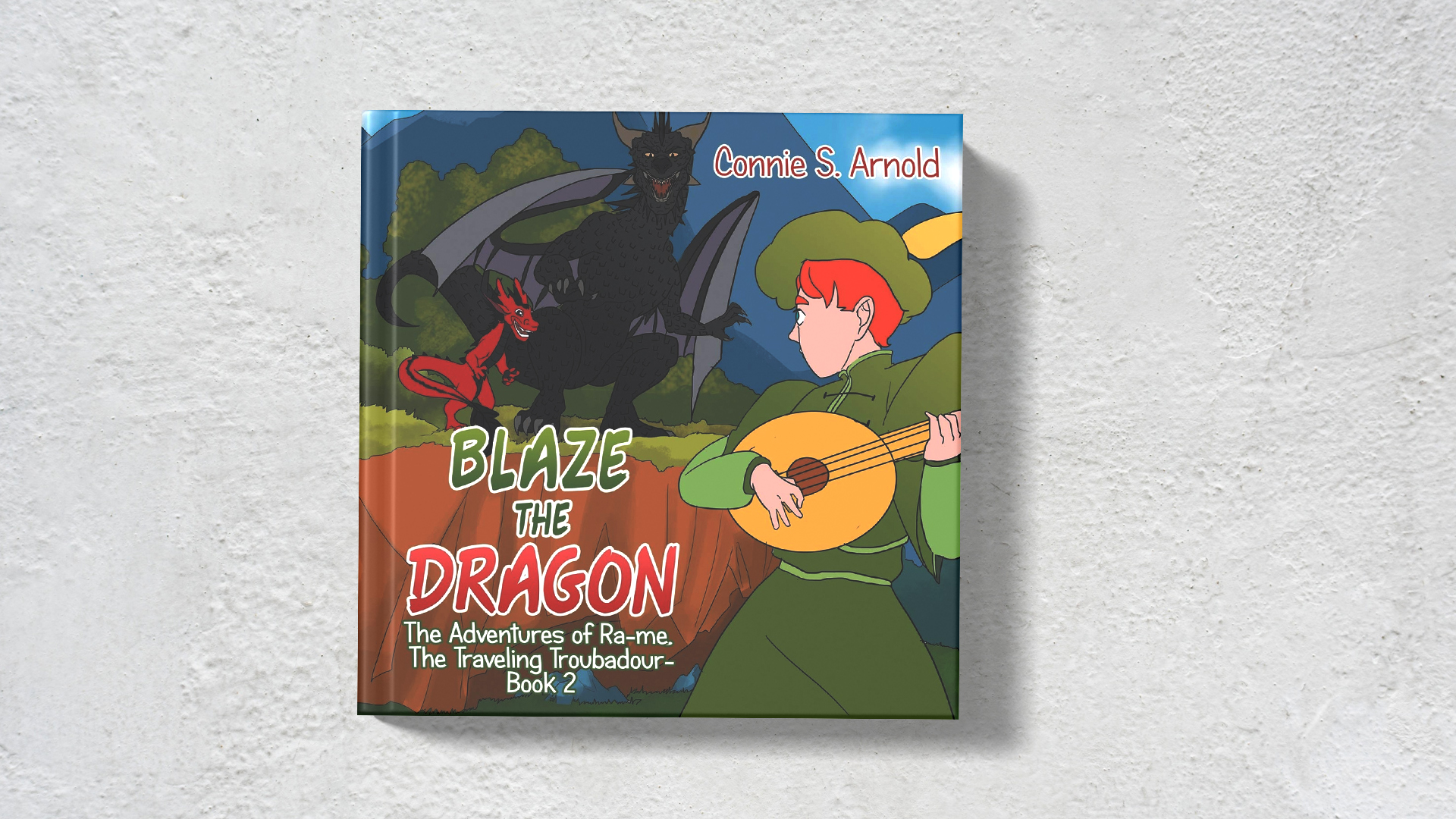 Blaze the Dragon by Connie Arnold banner