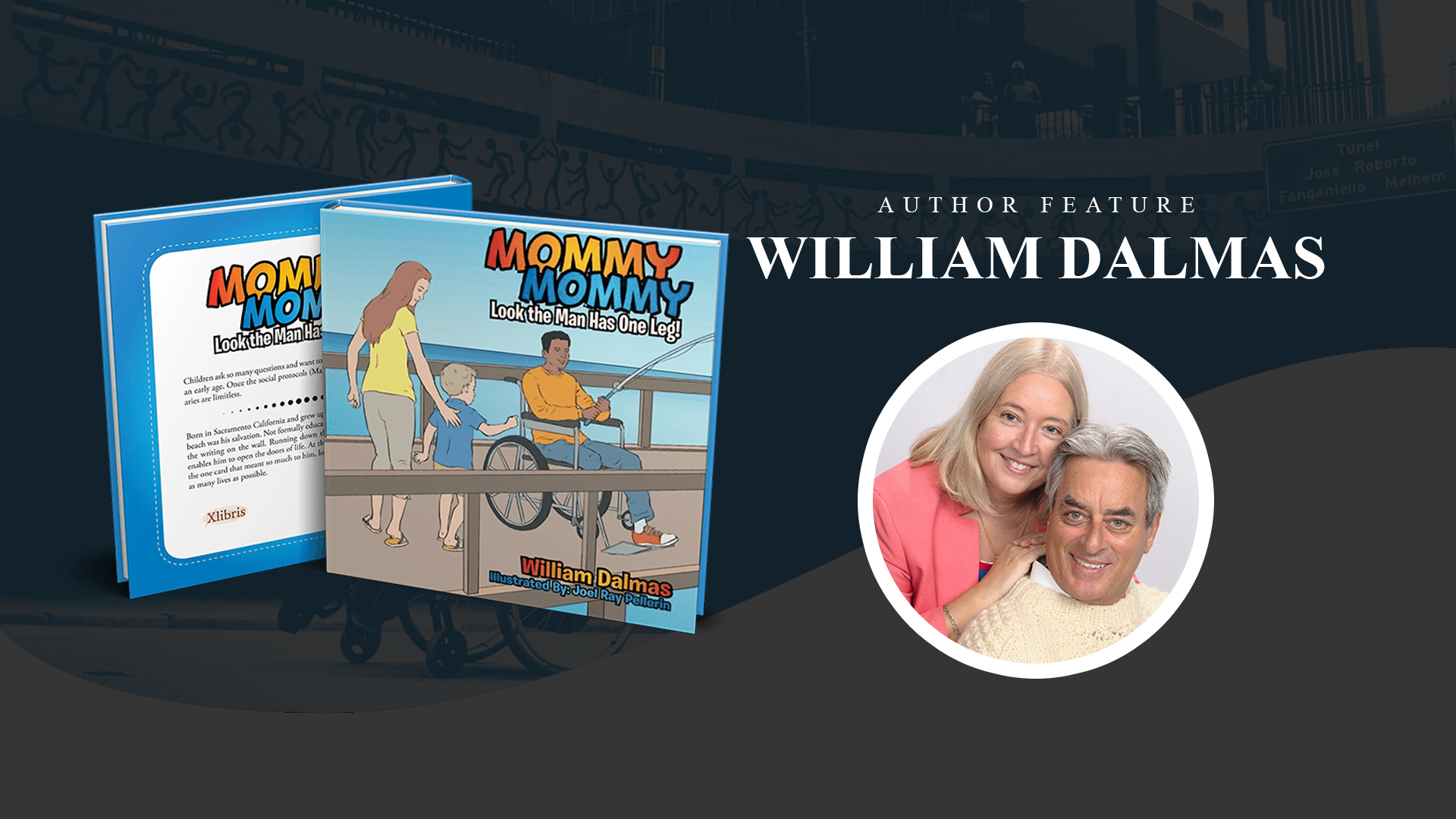 Author Feature: William Dalmas banner