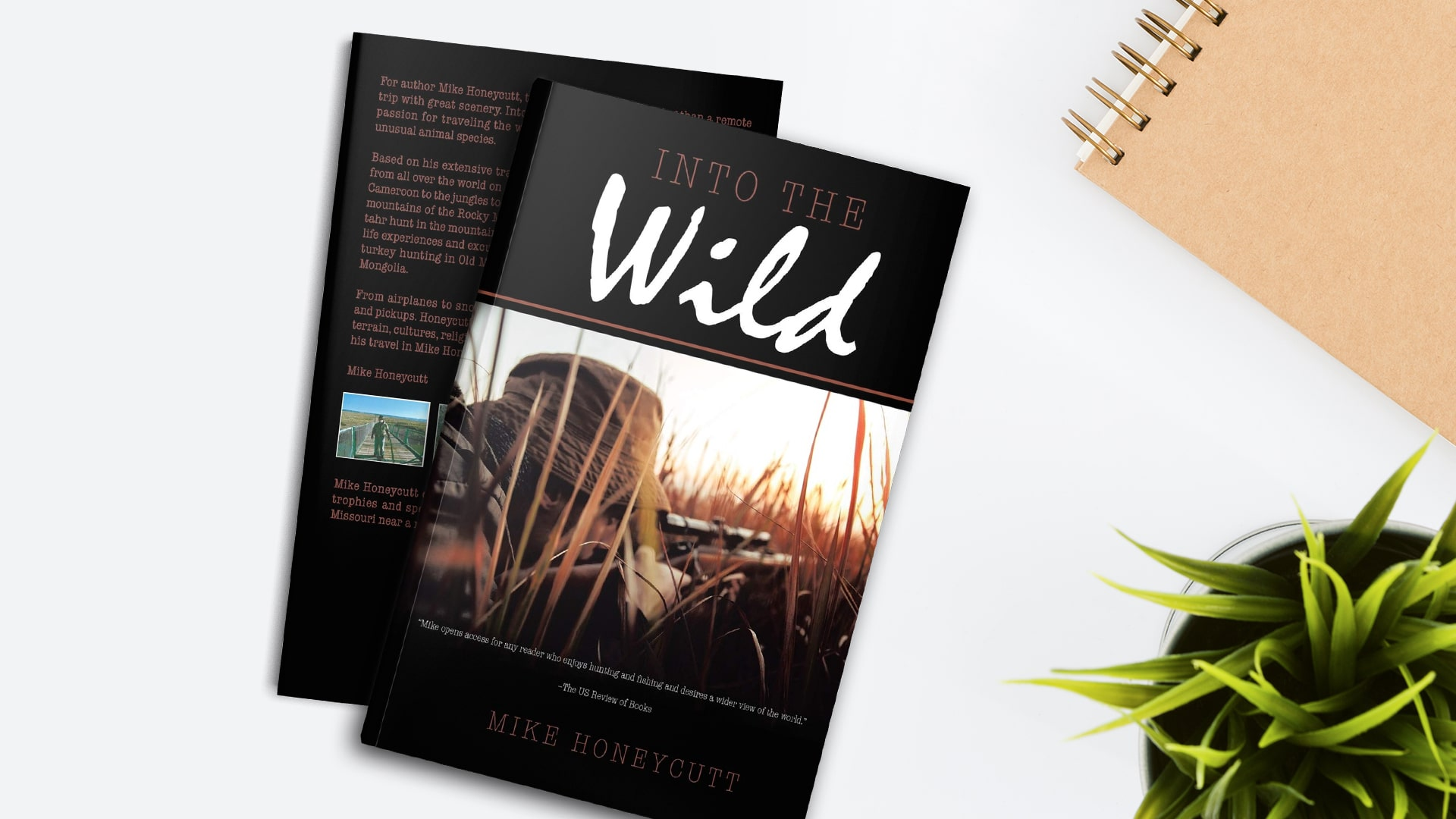 Book Feature: Into the wild by Mike Honeycutt banner