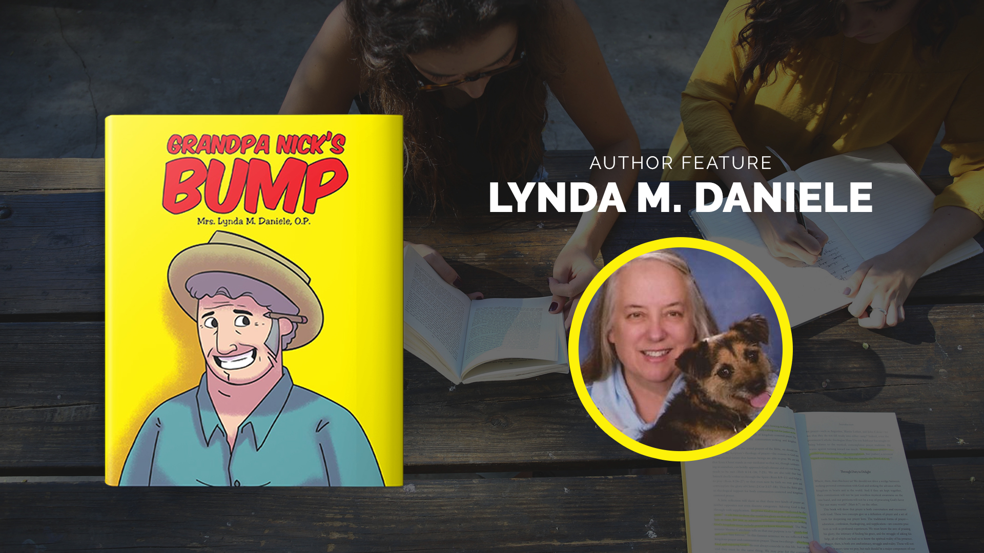 Author Feature: Lynda Daniele banner