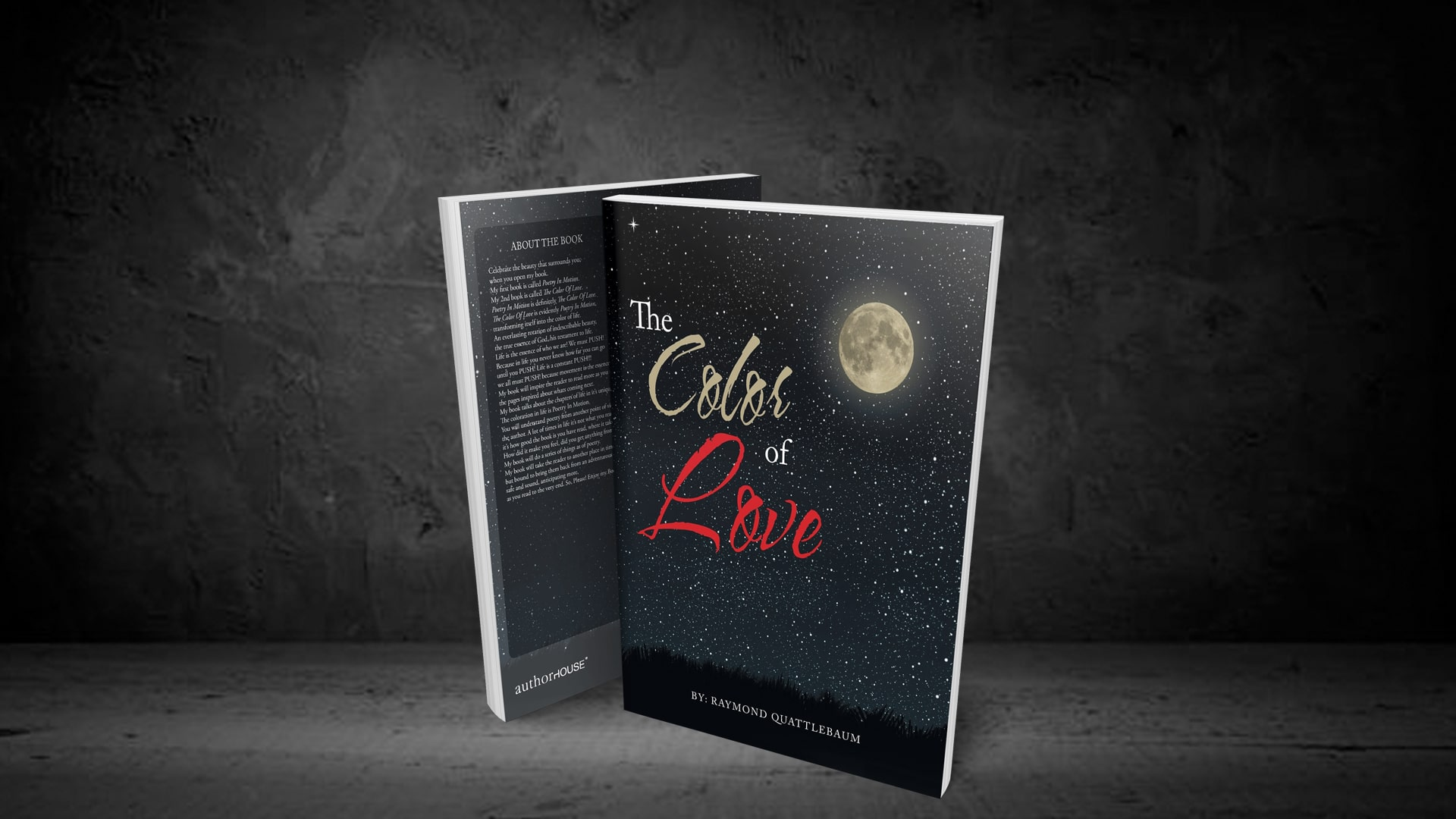 The Color of Love by Raymond Quattlebaum banner