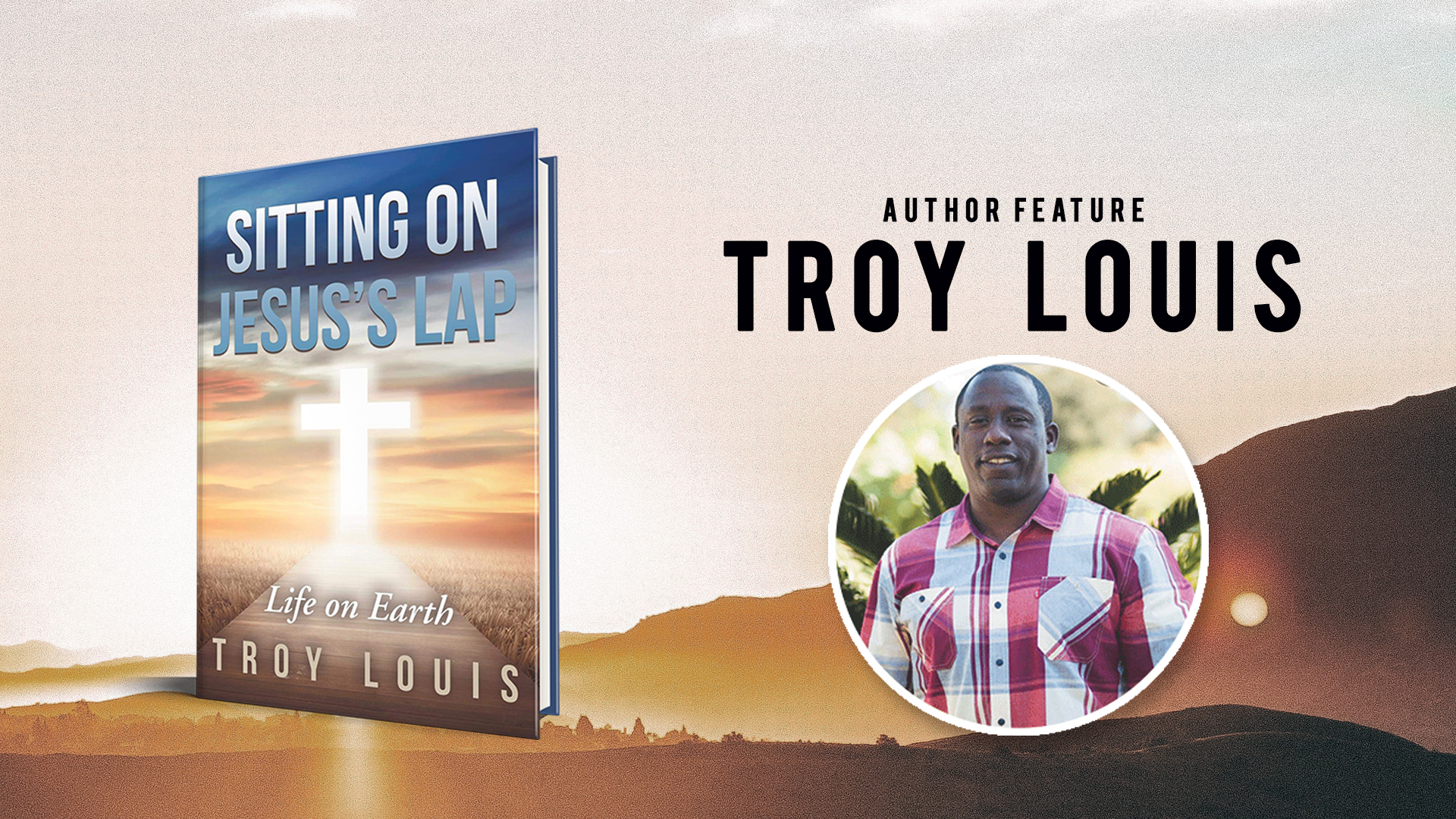 Author Feature Troy Louis banner