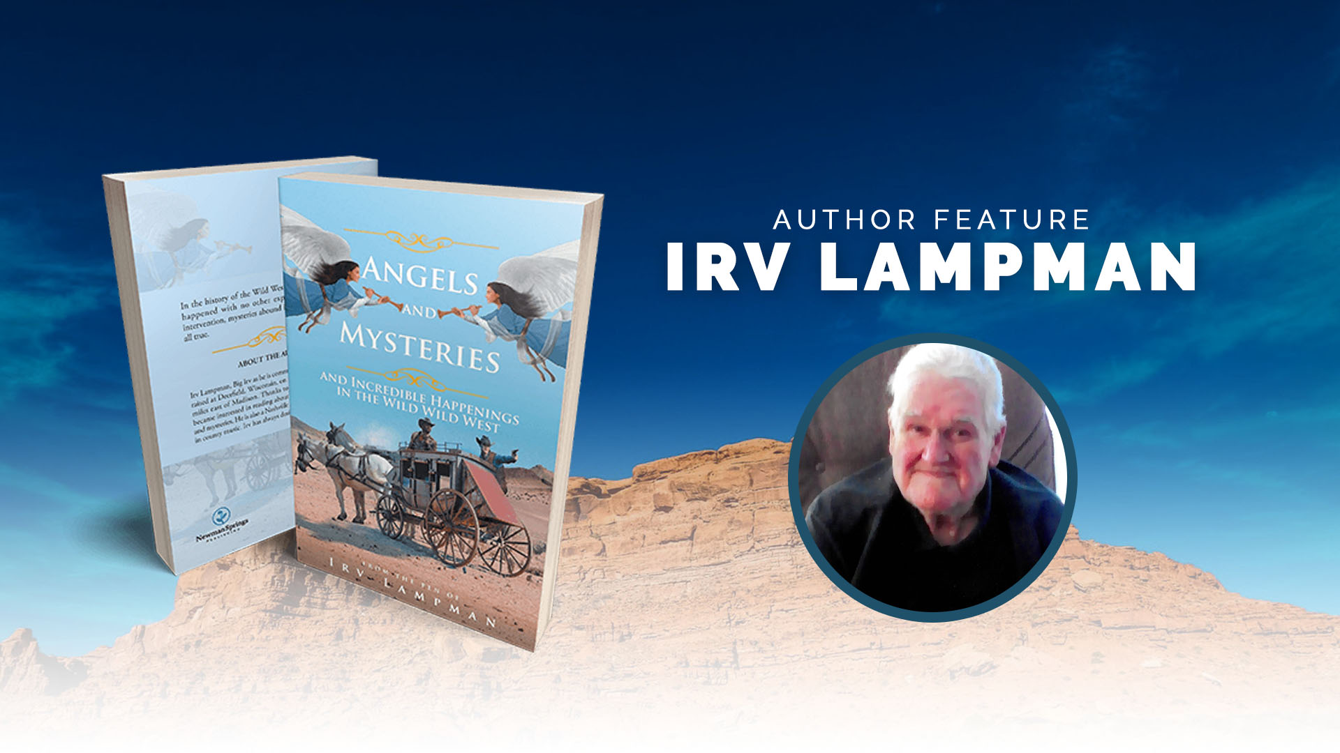 Irv Lampman book cover portrait