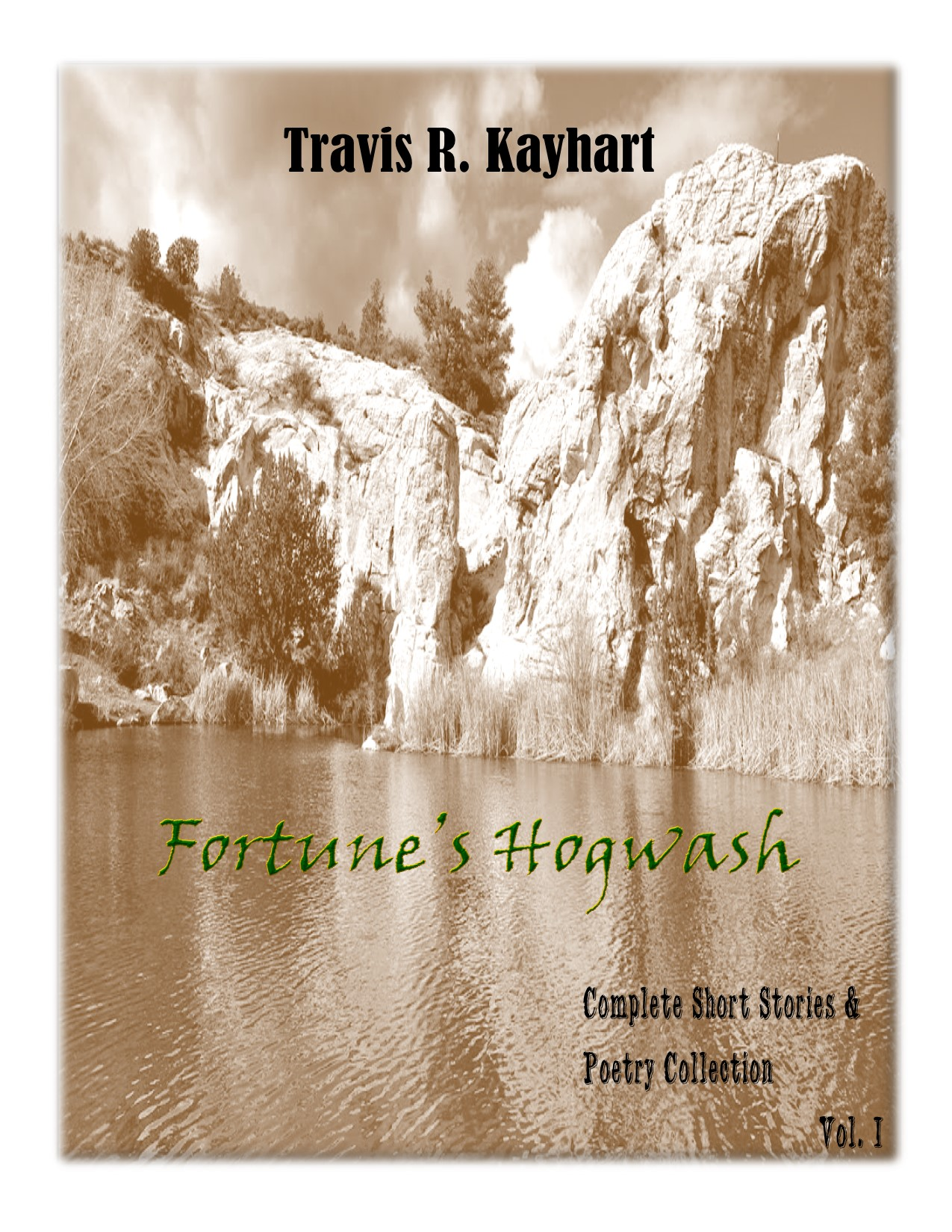 Fortune's Hogwash book cover page