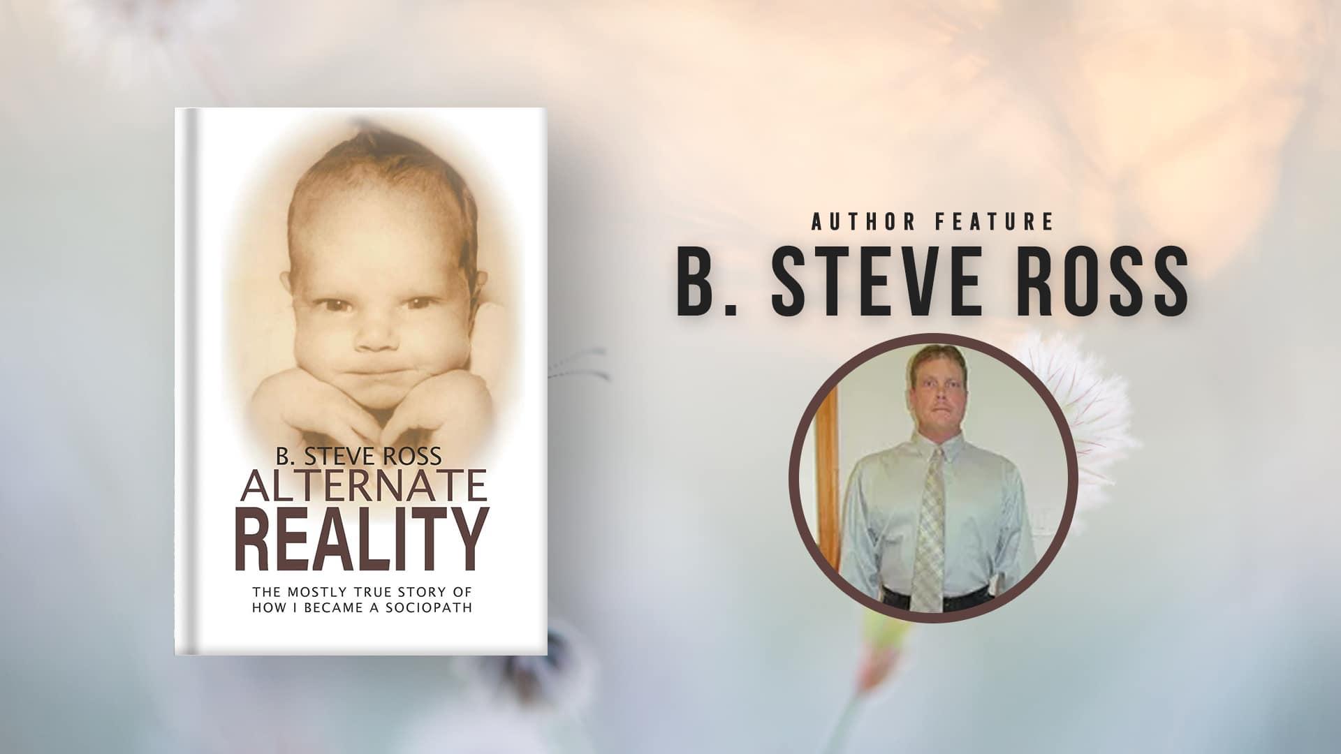 Steve Ross author banner