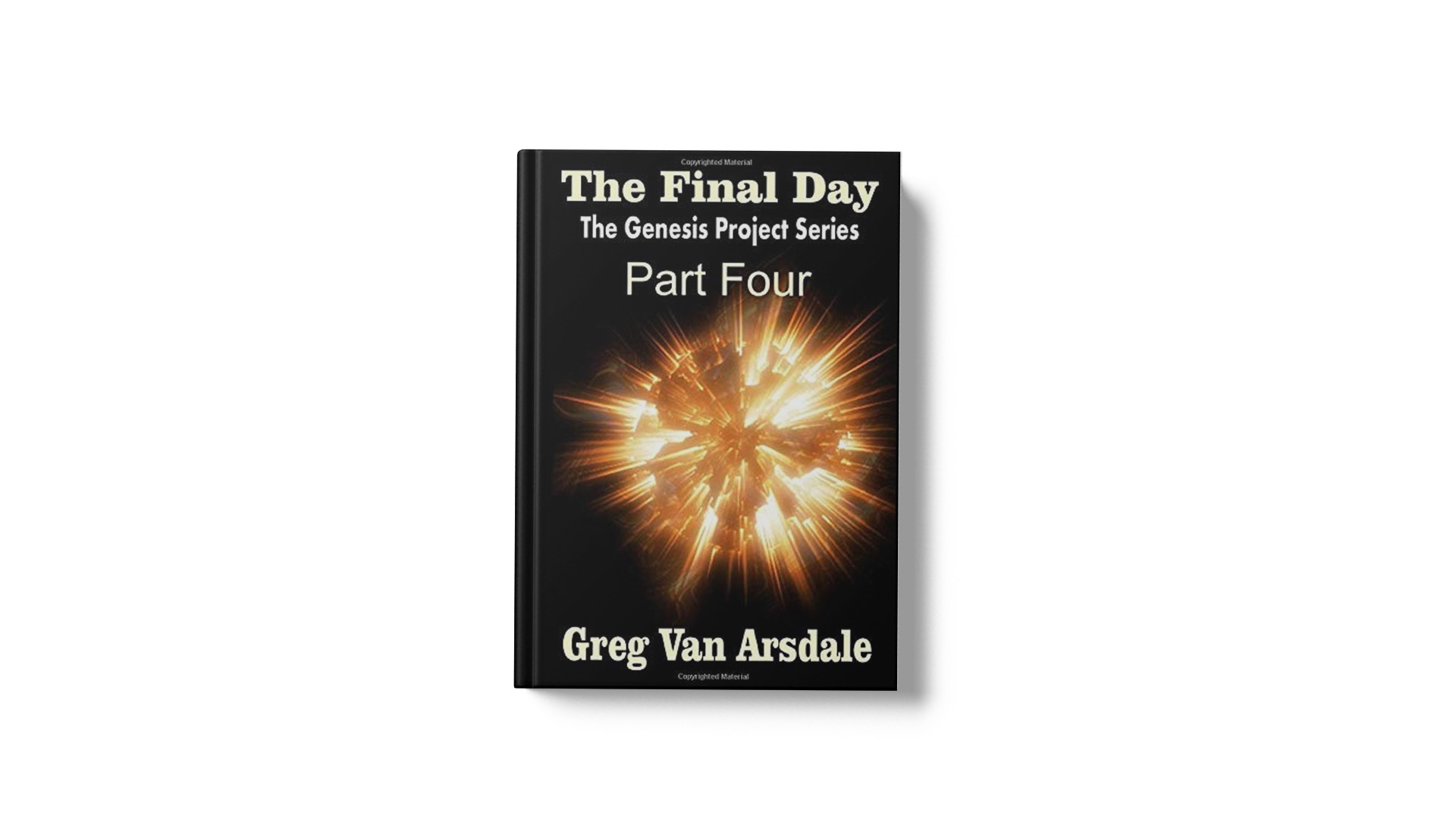 The Final Day by Greg Van Arsdale banner