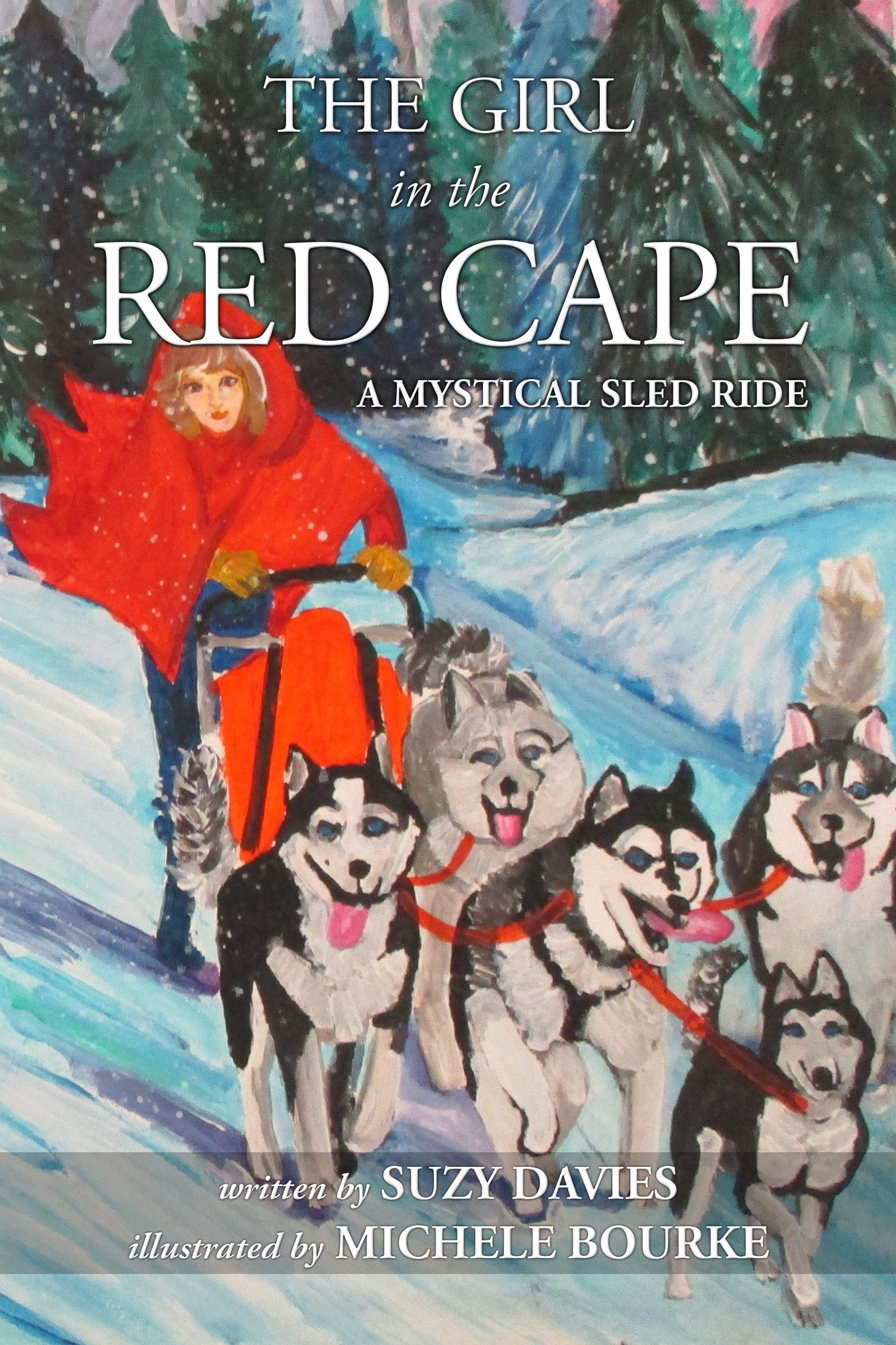 The Girl in The Red Cape by Suzy Davies