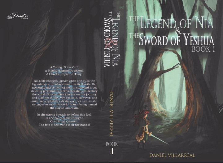 The Legend of Nia, an epic fantasy by Daniel Villarreal