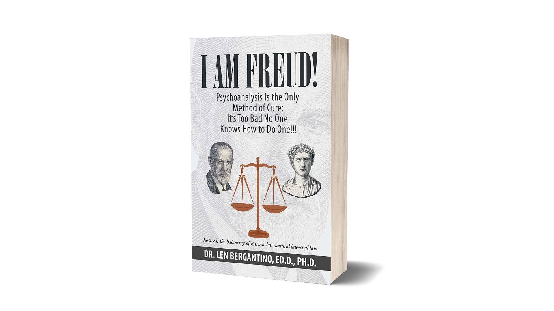 I am Freud book banner