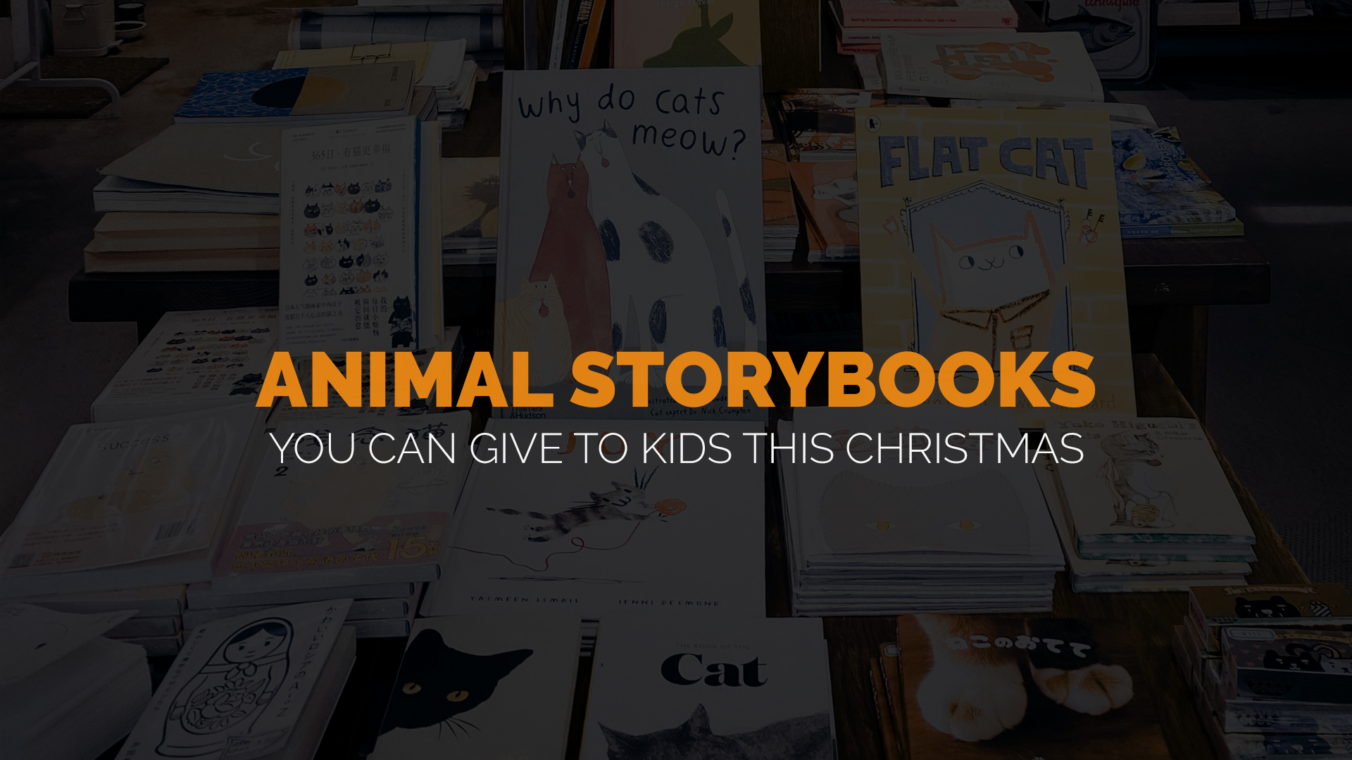 Animal Storybooks You Can Give to Kids This Christmas banner