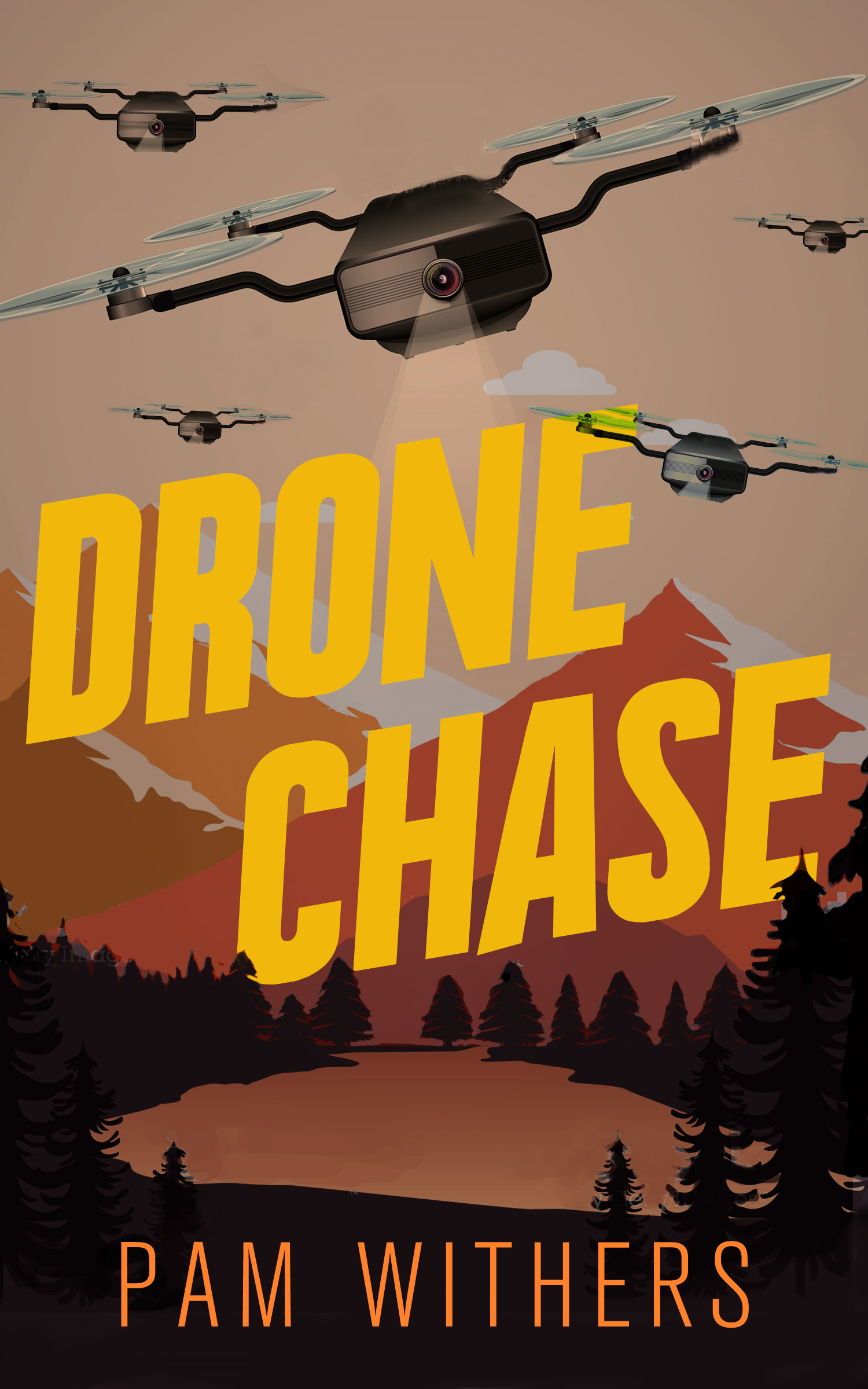 Drone Chase, by Pam Withers