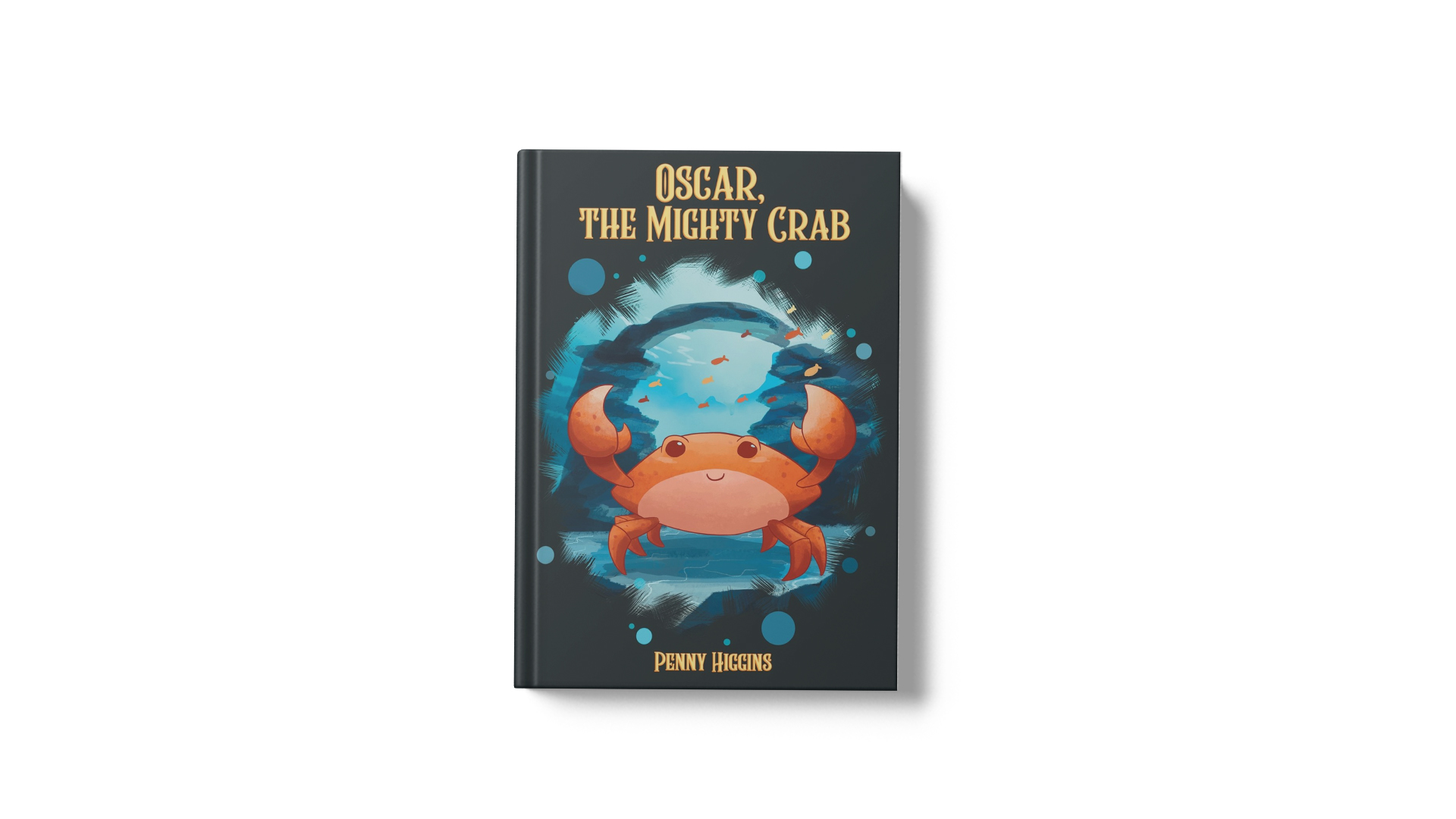 Oscar the Mighty Crab by Penny Higgins banner
