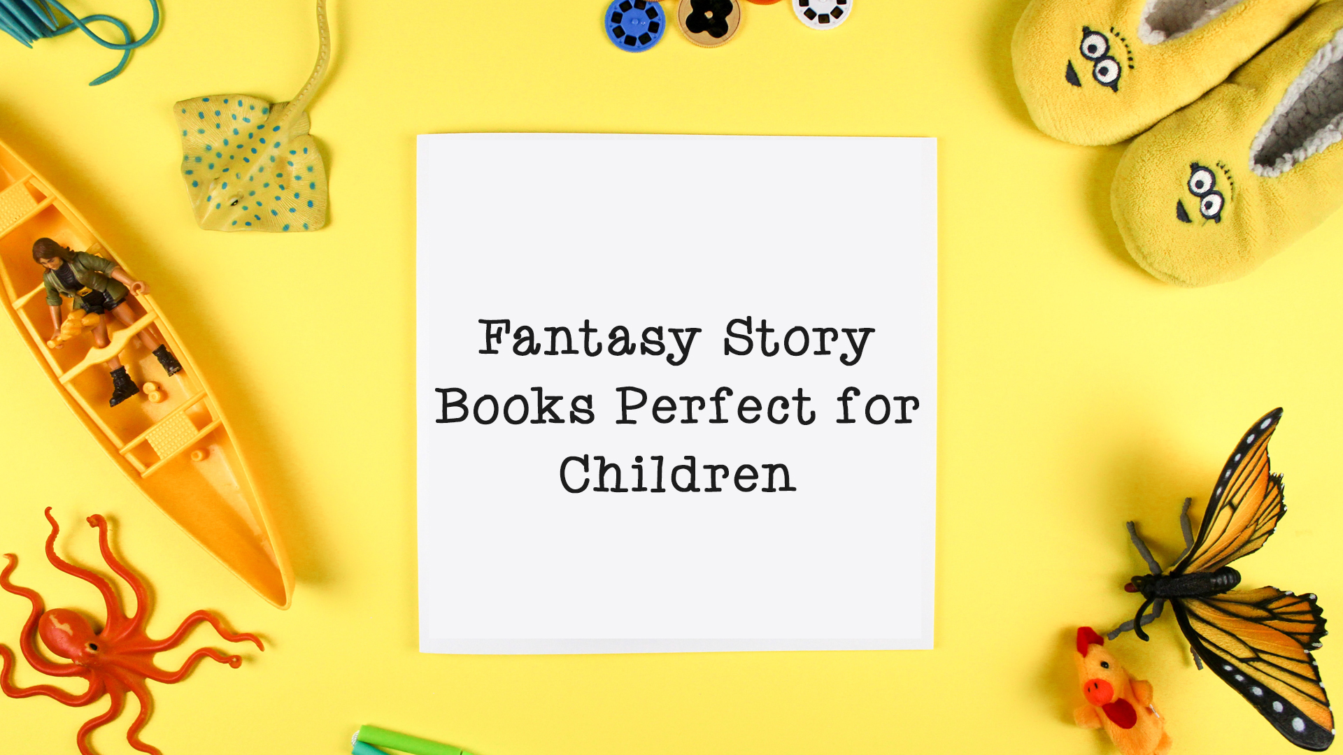 Fantasy Story Books Perfect for Children banner