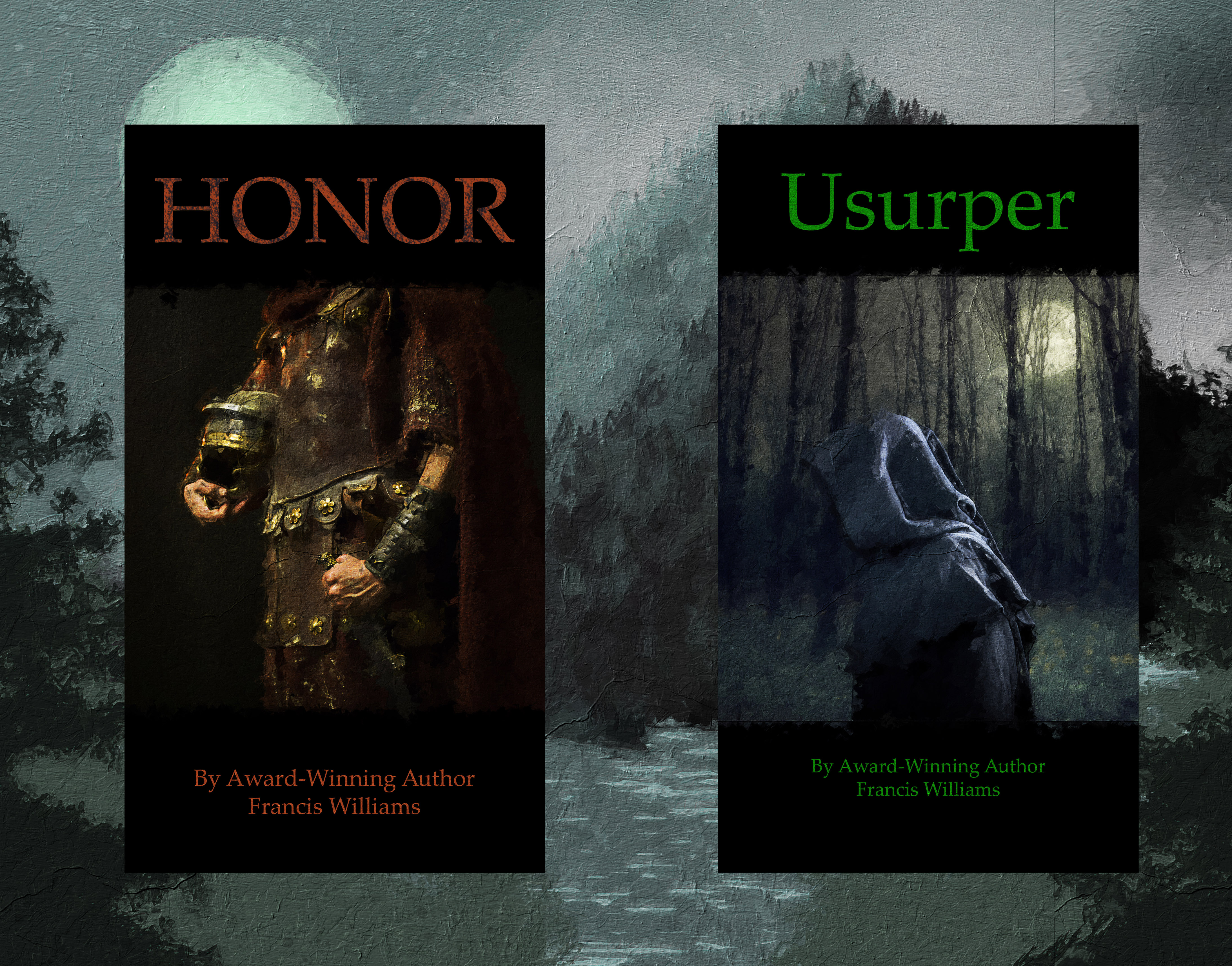 Francis Williams on HONOR and USURPER