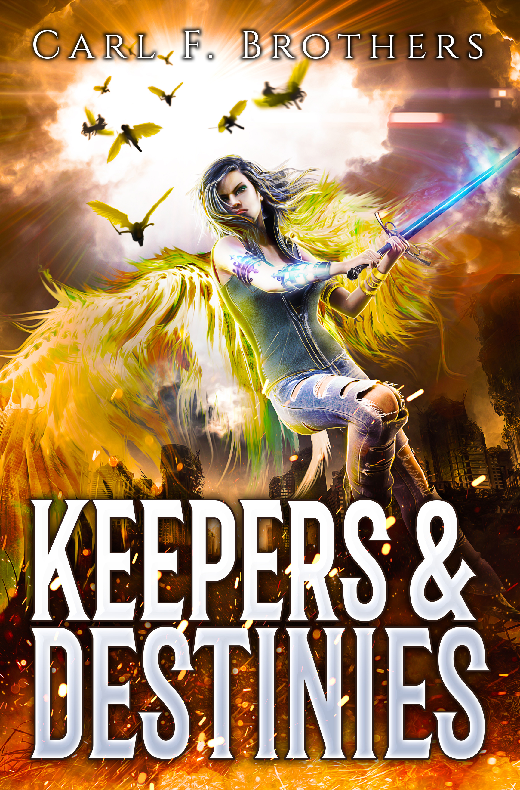 Keepers and Destinies by Carl. F. Brothers