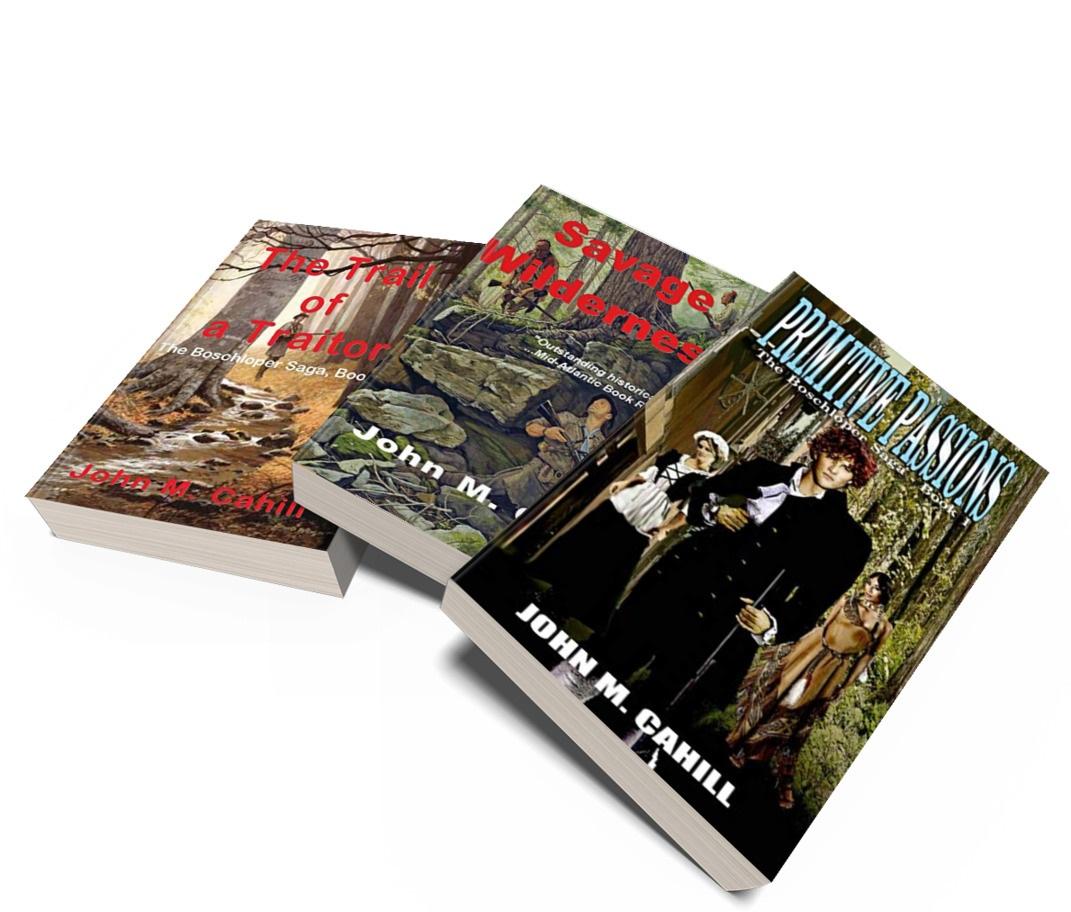 The Boschloper Saga by John M. Cahill